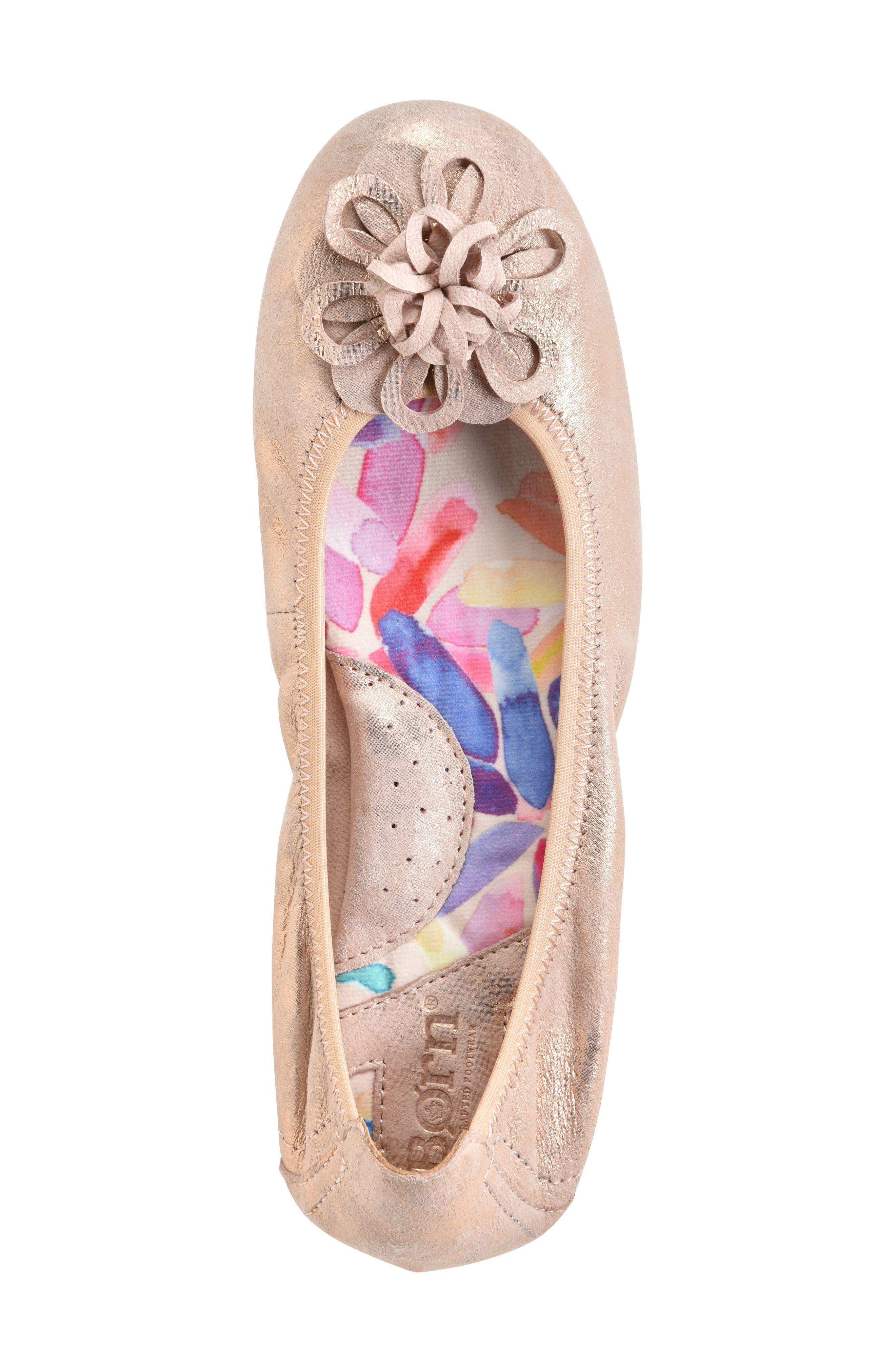 Julianne Floral Flat,                             Alternate thumbnail 33, color,
