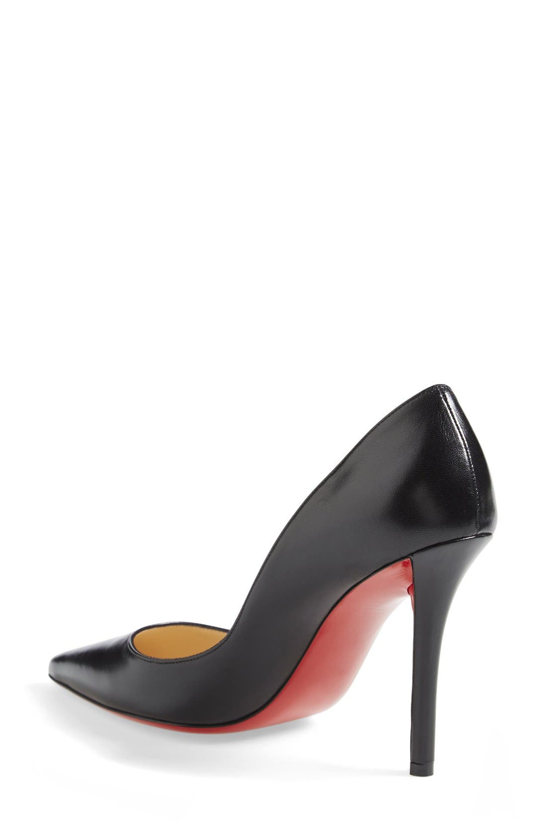 'Apostrophy' Pointy Toe Pump,                             Alternate thumbnail 17, color,
