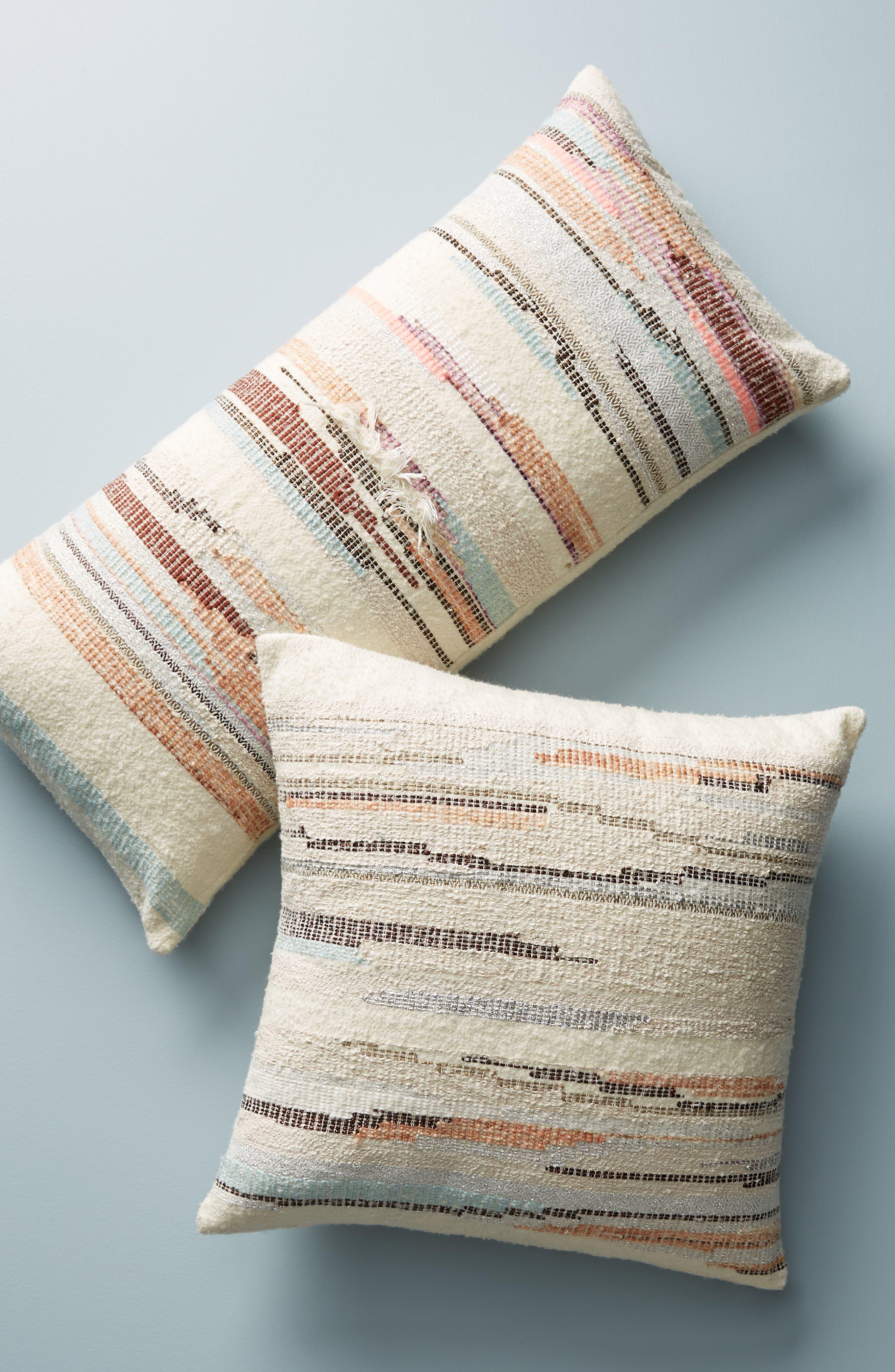 Jess Feury Sunstreak Accent Pillow,                             Alternate thumbnail 5, color,                             100