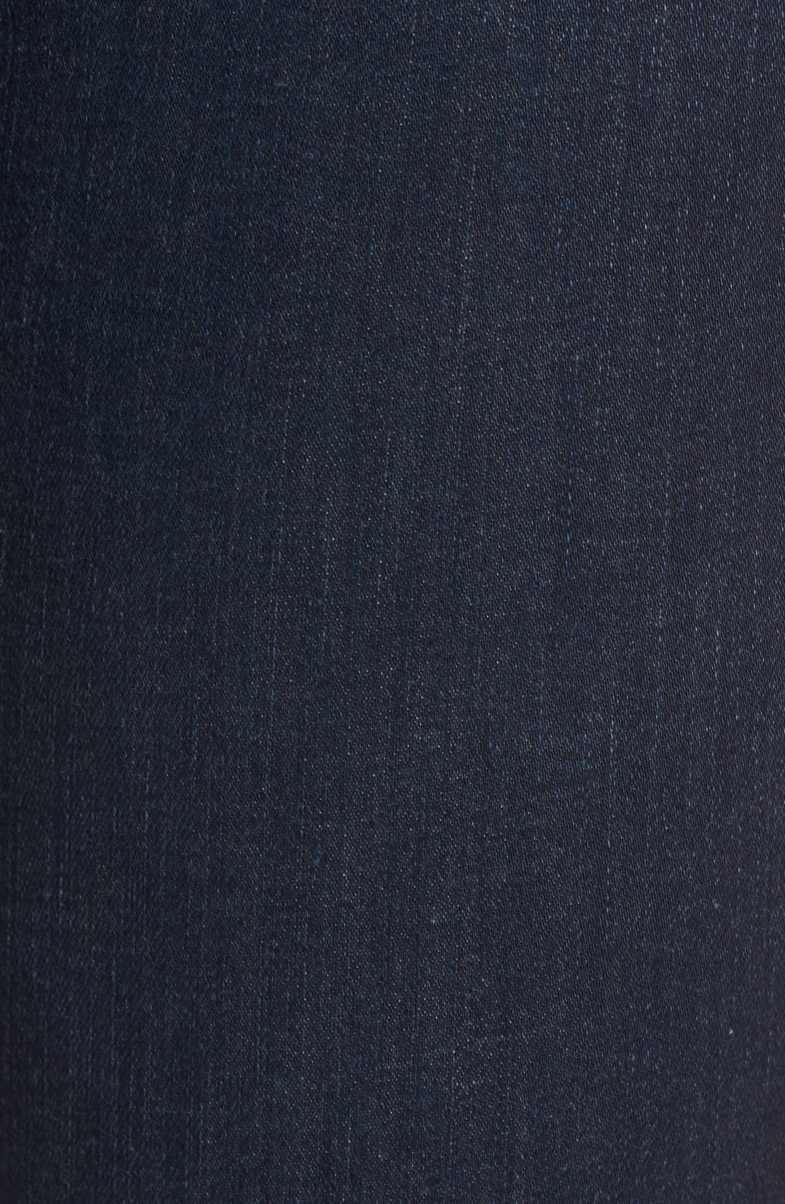 Chrissy High Waist Ankle Skinny Jeans,                             Alternate thumbnail 5, color,                             405