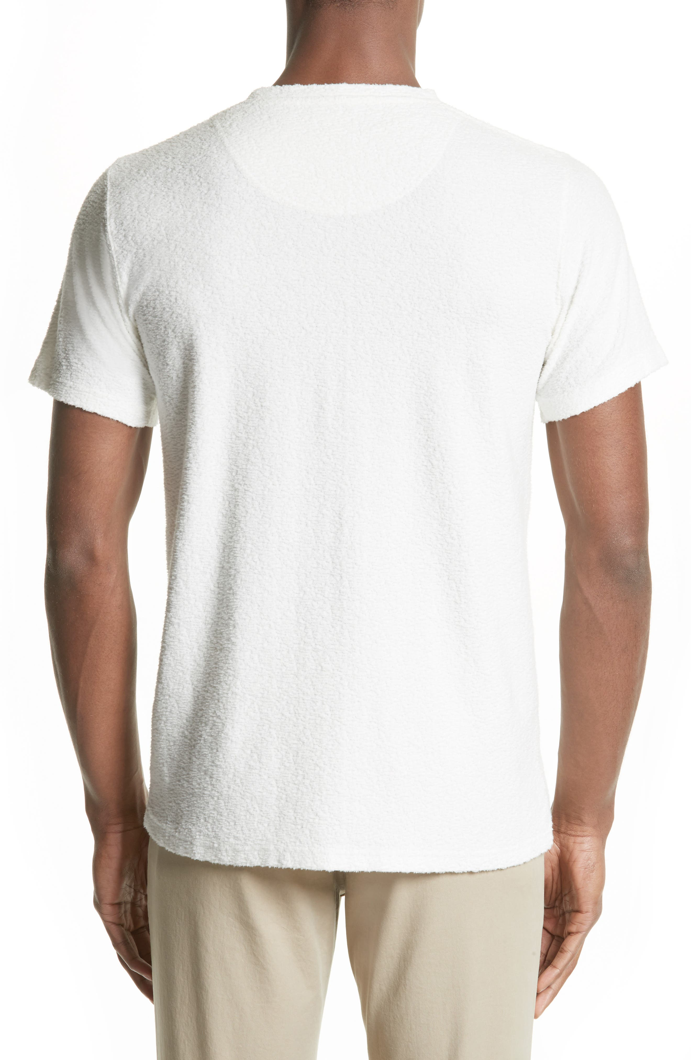 Bouclé Pocket T-Shirt,                             Alternate thumbnail 2, color,                             100
