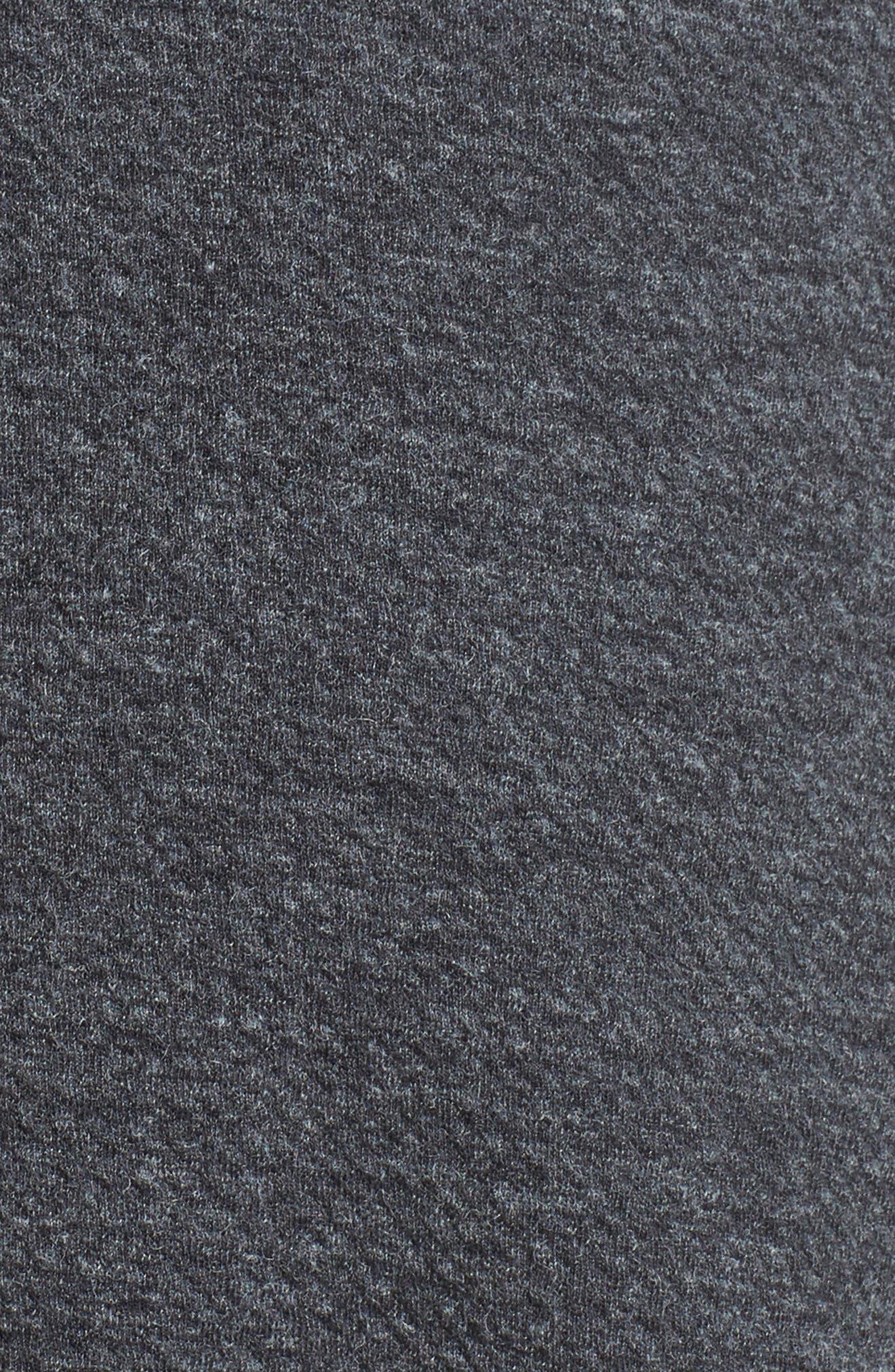 Ruffle Sleeve Knit Minidress,                             Alternate thumbnail 5, color,                             020