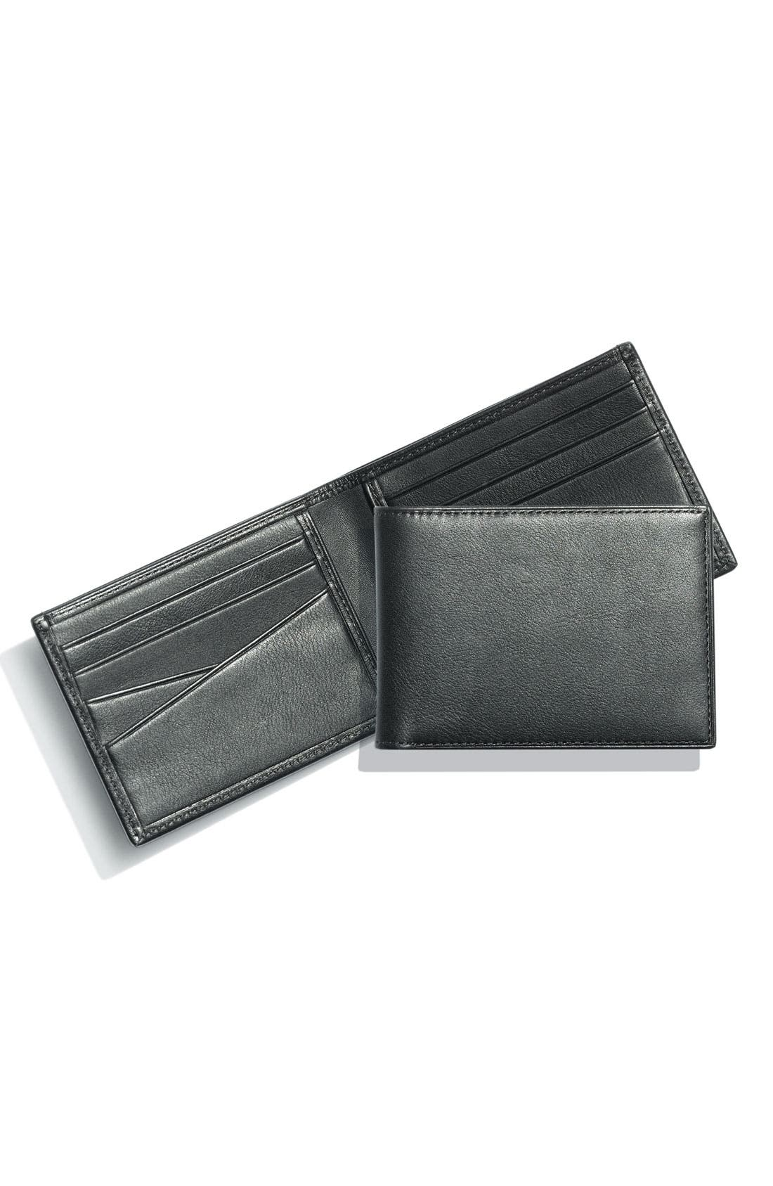 Small Bifold Wallet,                             Alternate thumbnail 2, color,                             001