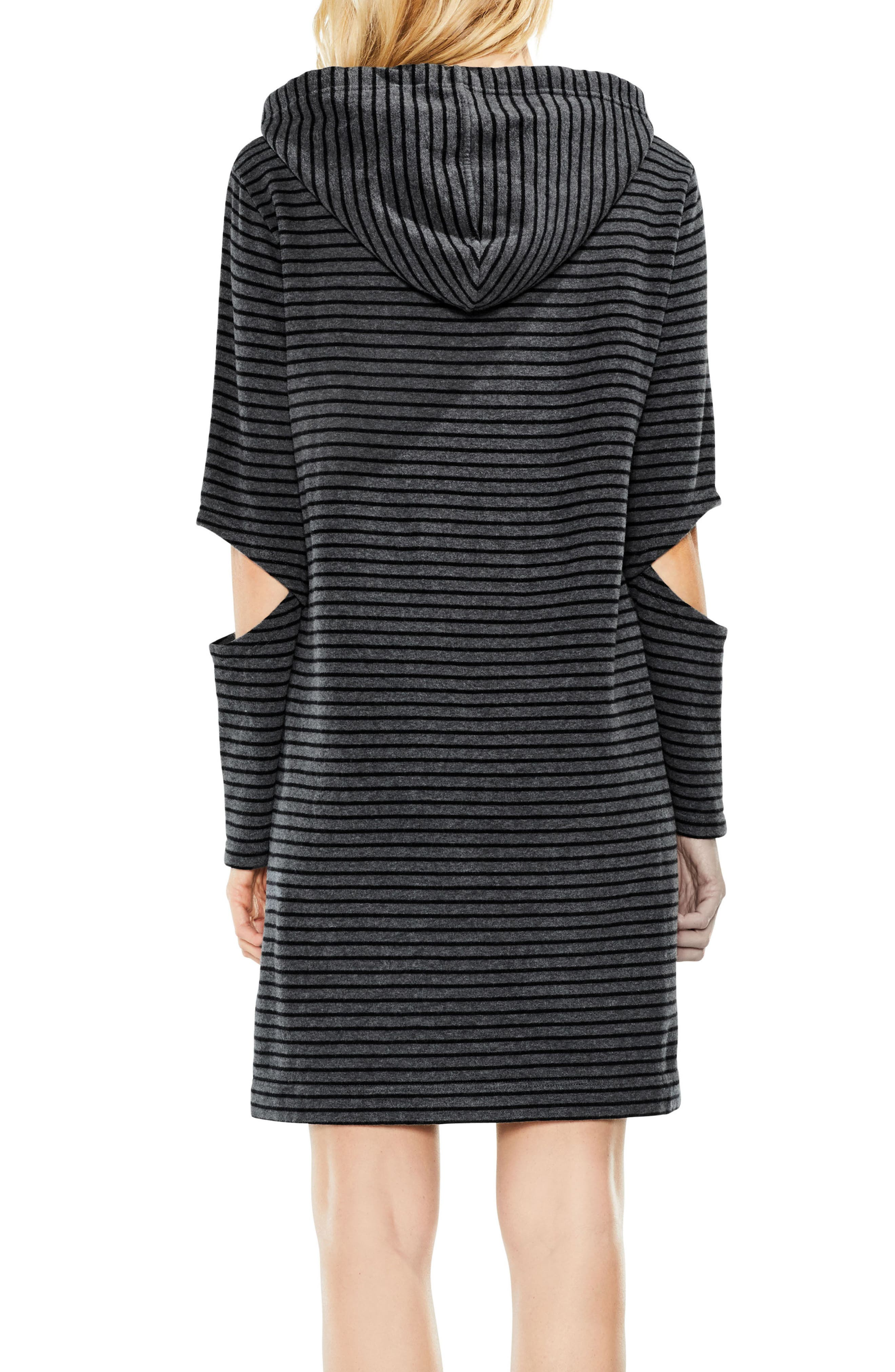Daydream Stripe Hooded Dress,                             Alternate thumbnail 3, color,