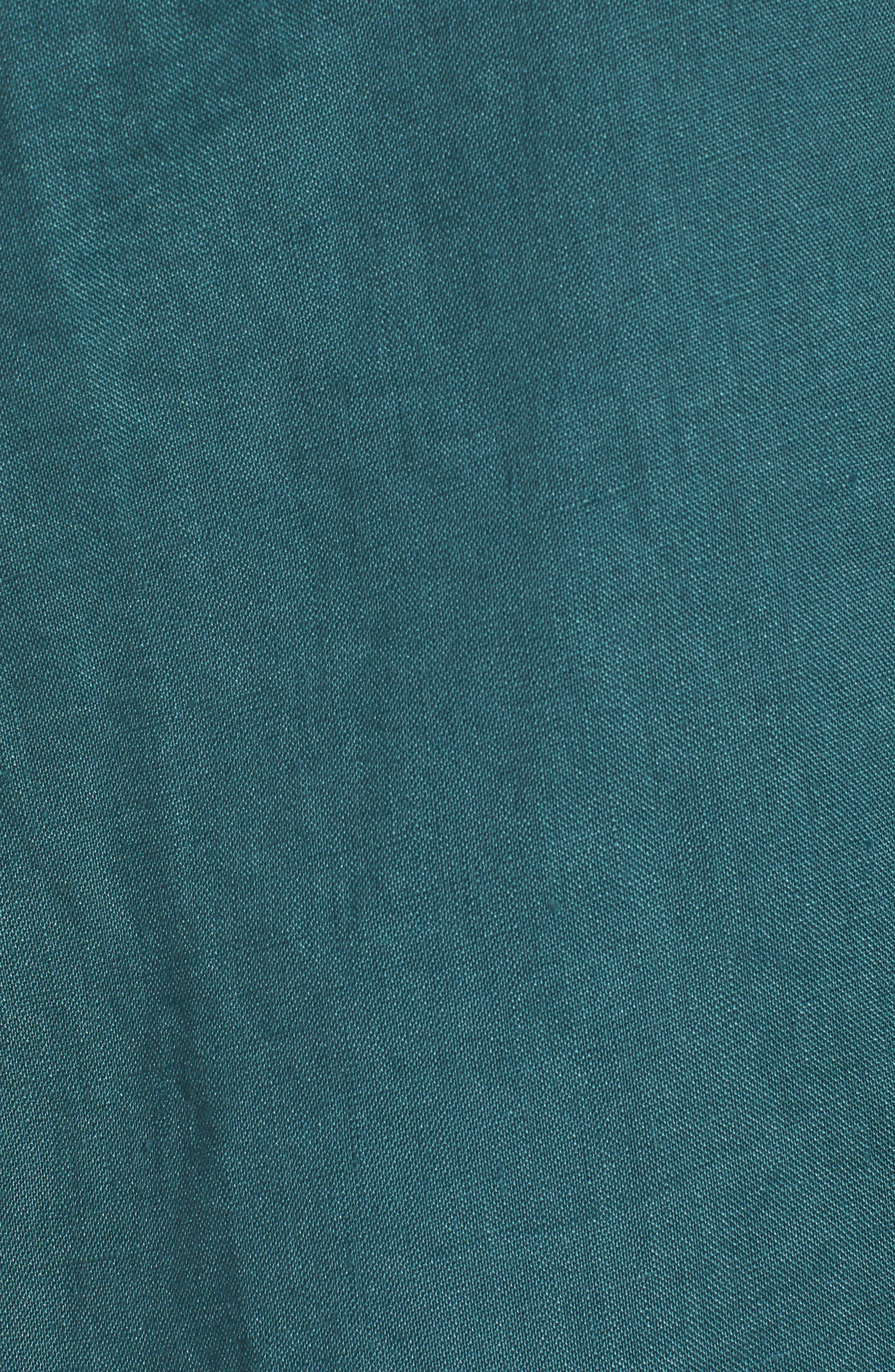 Organic Linen Tunic Shirt,                             Alternate thumbnail 14, color,