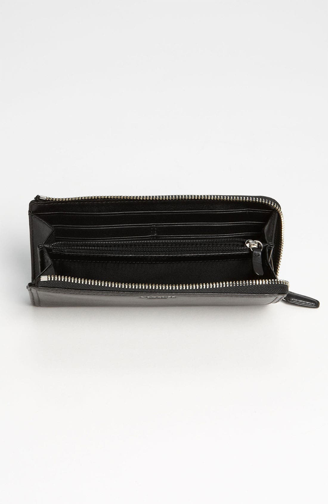 COACH,                             'Legacy' Leather Wallet,                             Alternate thumbnail 2, color,                             001