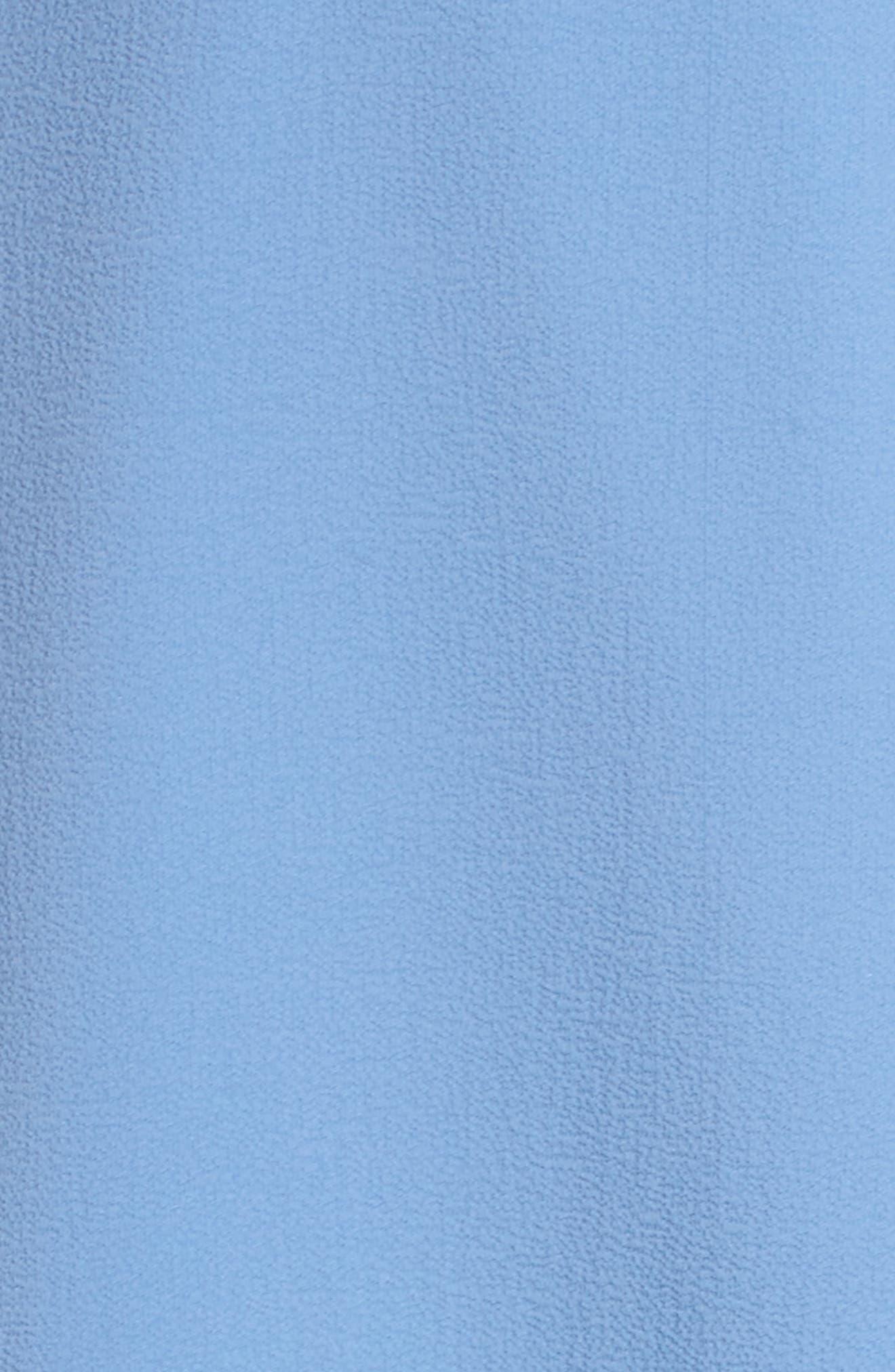 Lauryl Wrap Dress,                             Alternate thumbnail 5, color,                             450