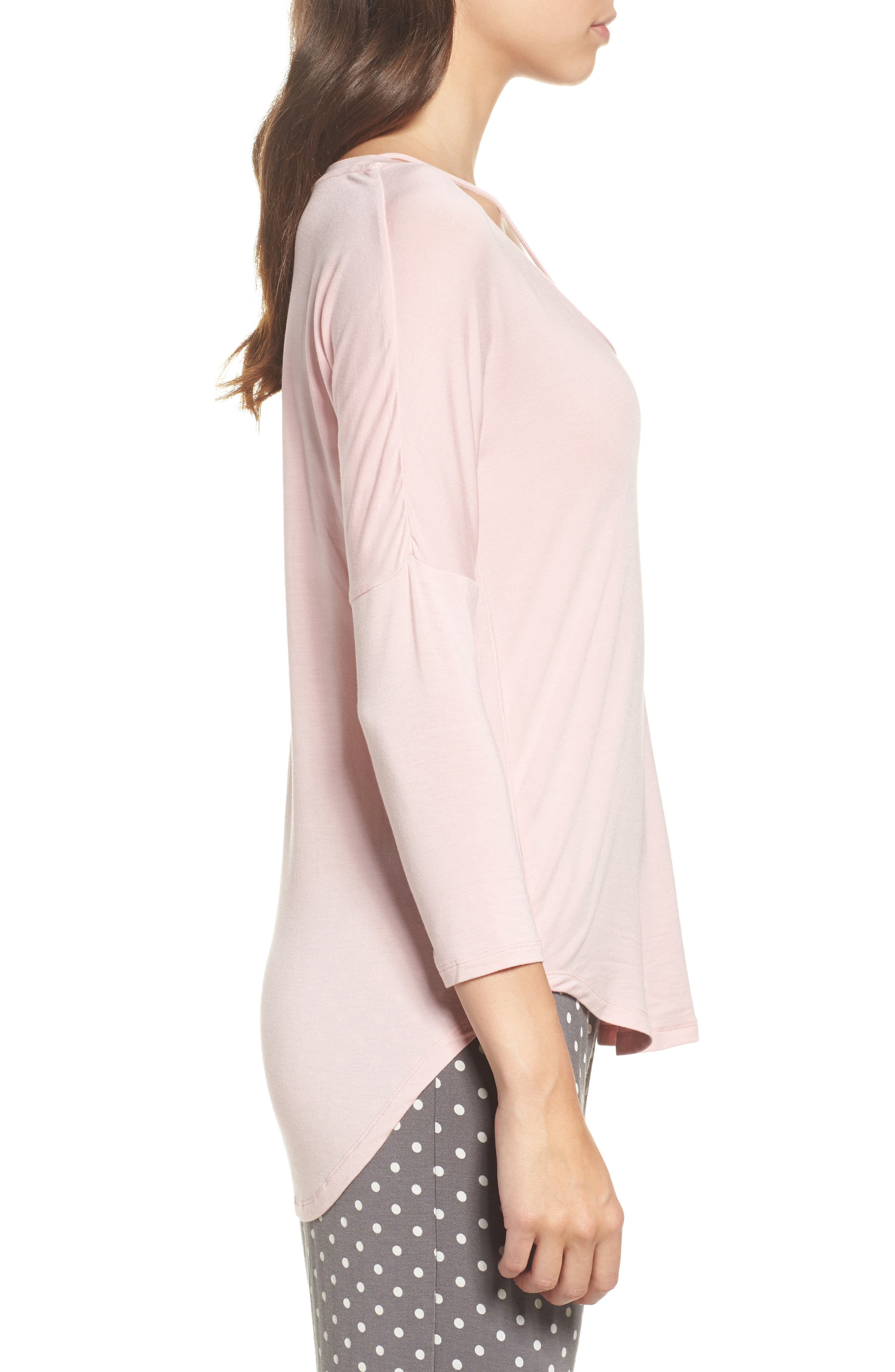 Long Sleeve Top,                             Alternate thumbnail 3, color,                             650