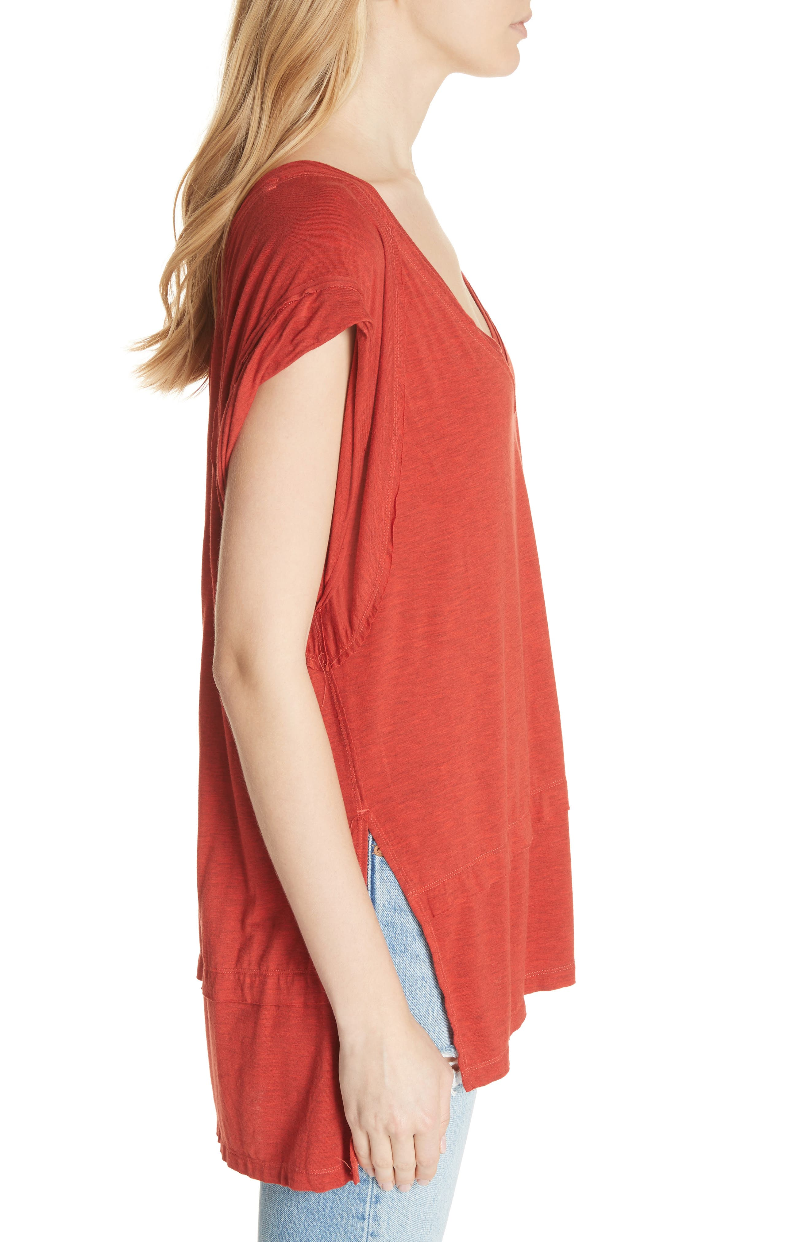 We the Free by Free People Voyage Tee,                             Alternate thumbnail 15, color,
