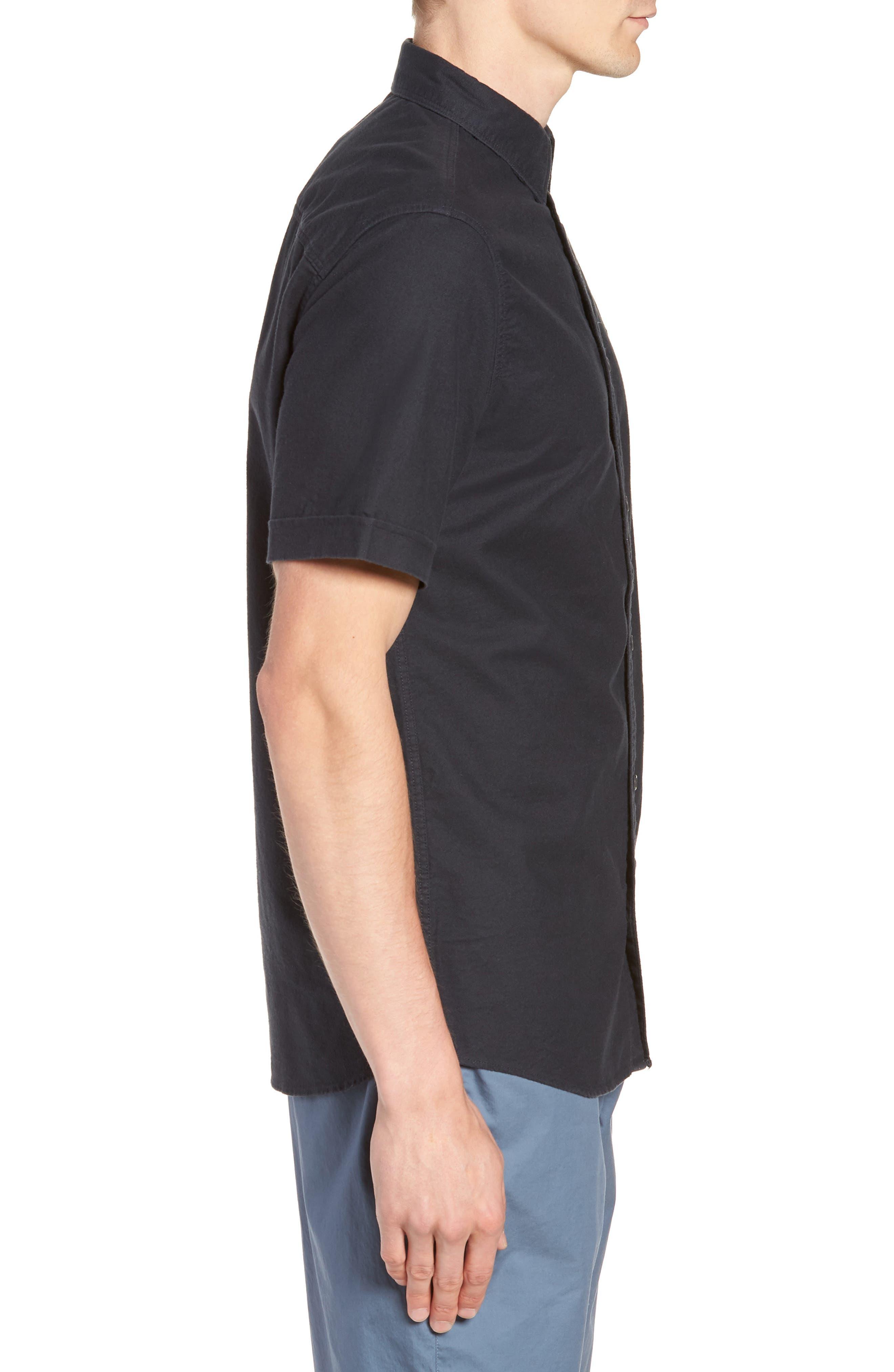 Huntington Regular Fit Short Sleeve Sport Shirt,                             Alternate thumbnail 19, color,
