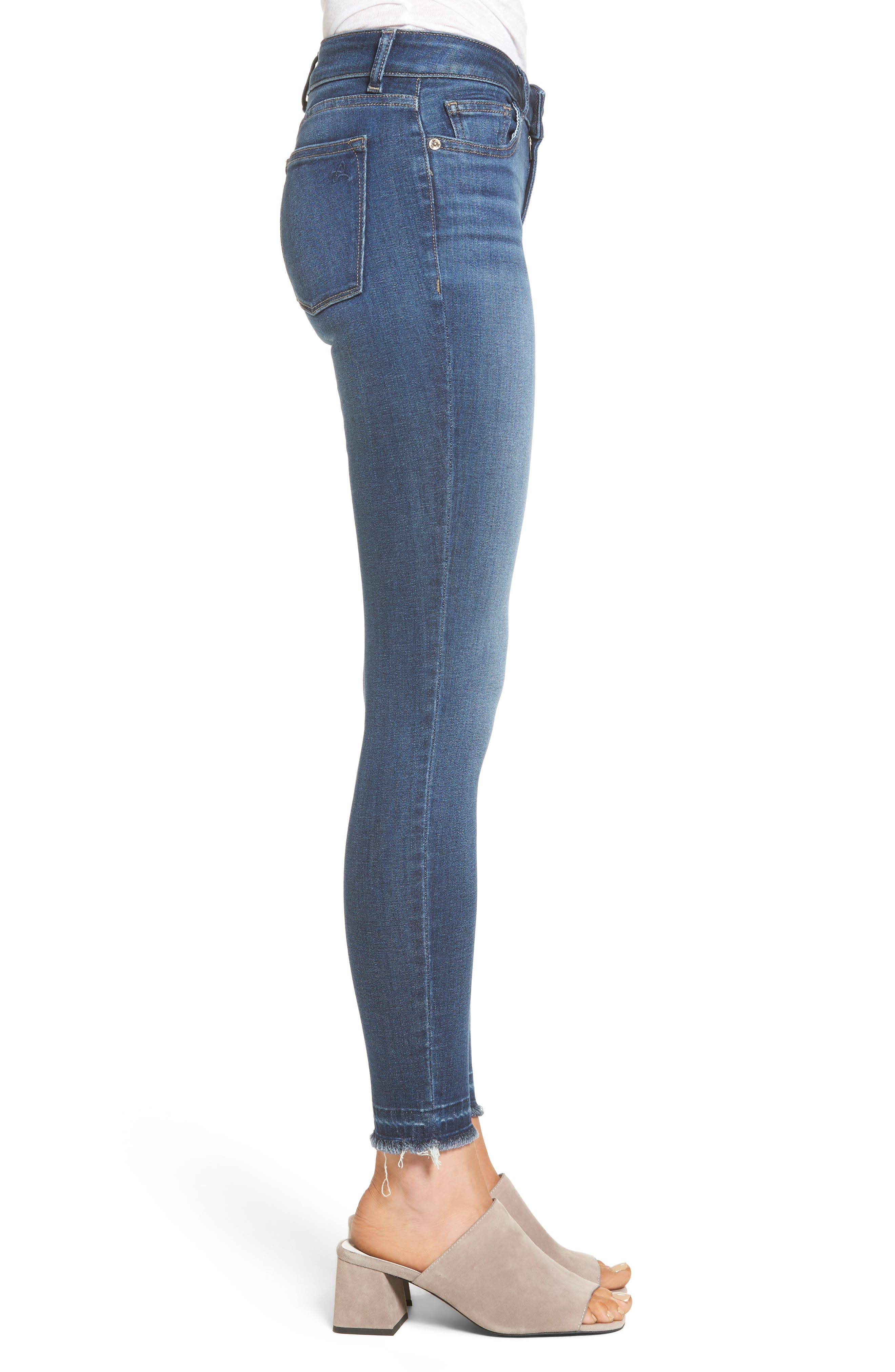 Emma Power Legging Jeans,                             Alternate thumbnail 3, color,                             405