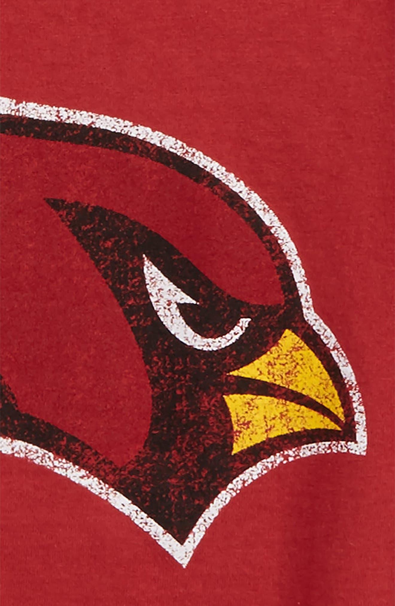 NFL - Arizona Cardinals Distressed Logo T-Shirt,                             Alternate thumbnail 2, color,                             600