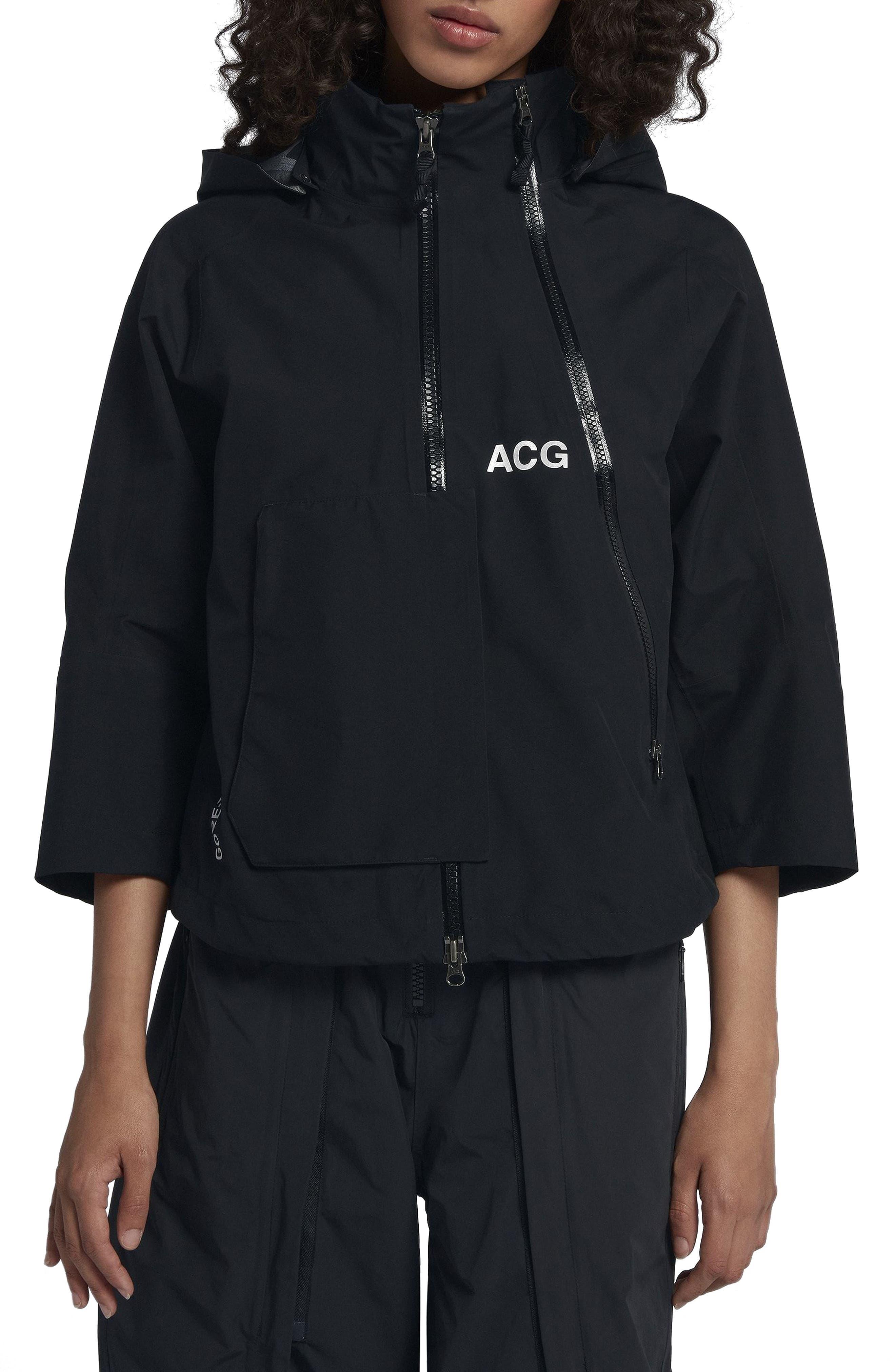 NikeLab ACG Gore-Tex<sup>®</sup> Women's Jacket,                             Alternate thumbnail 2, color,                             010