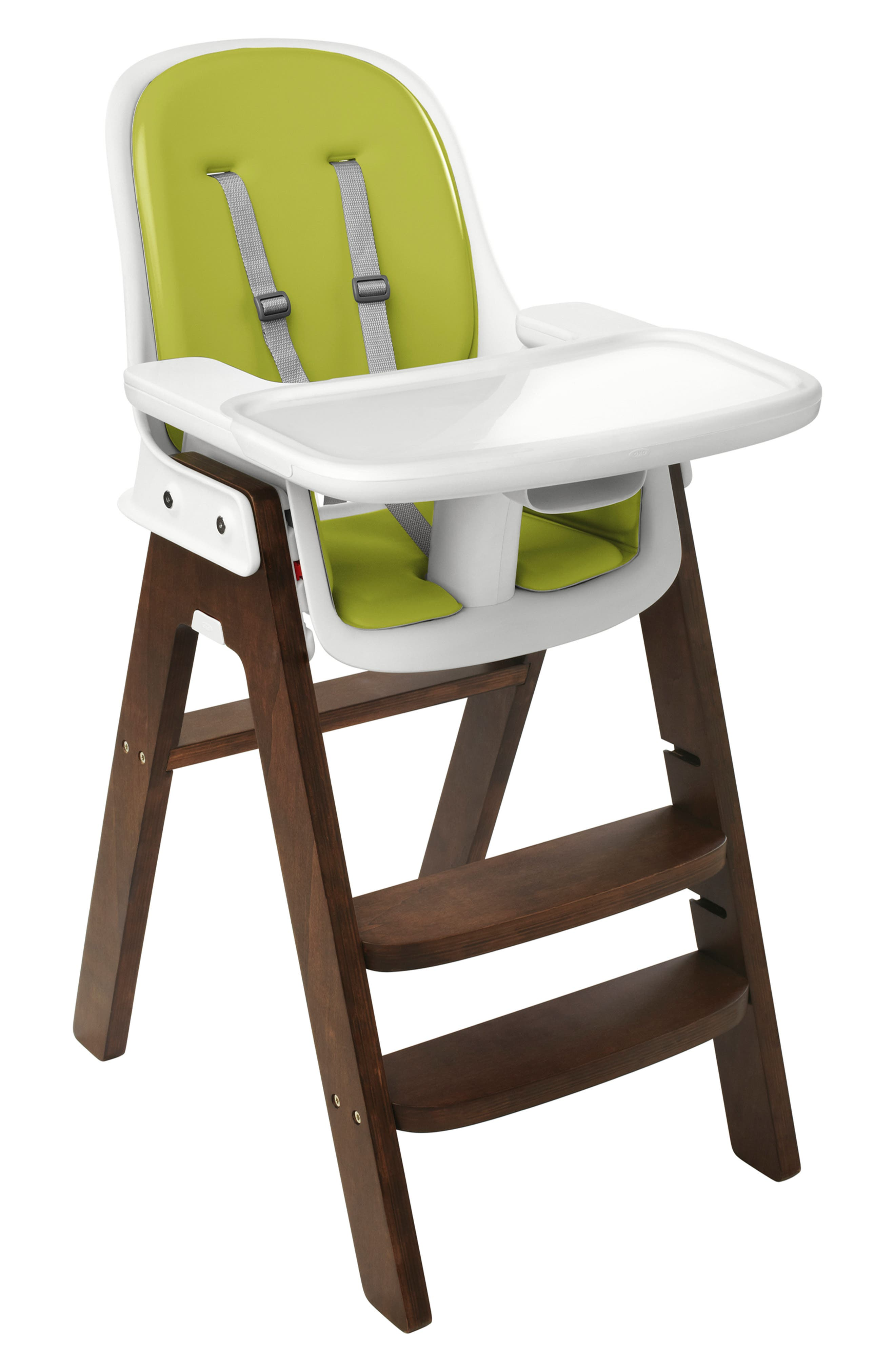 'Sprout' Chair,                             Alternate thumbnail 2, color,                             GREEN/ WALNUT