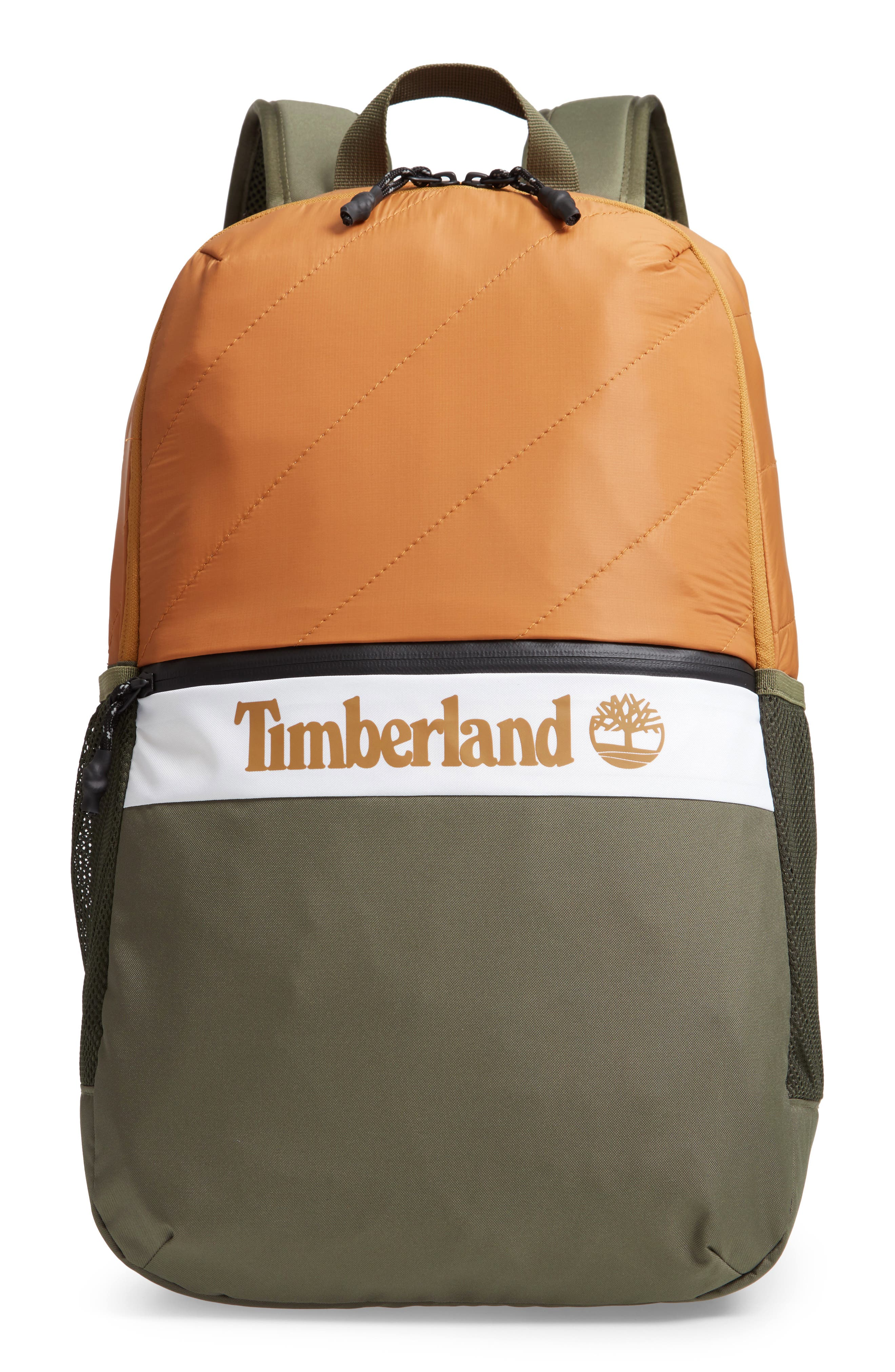 Timberland Top Zip Backpack - Beige