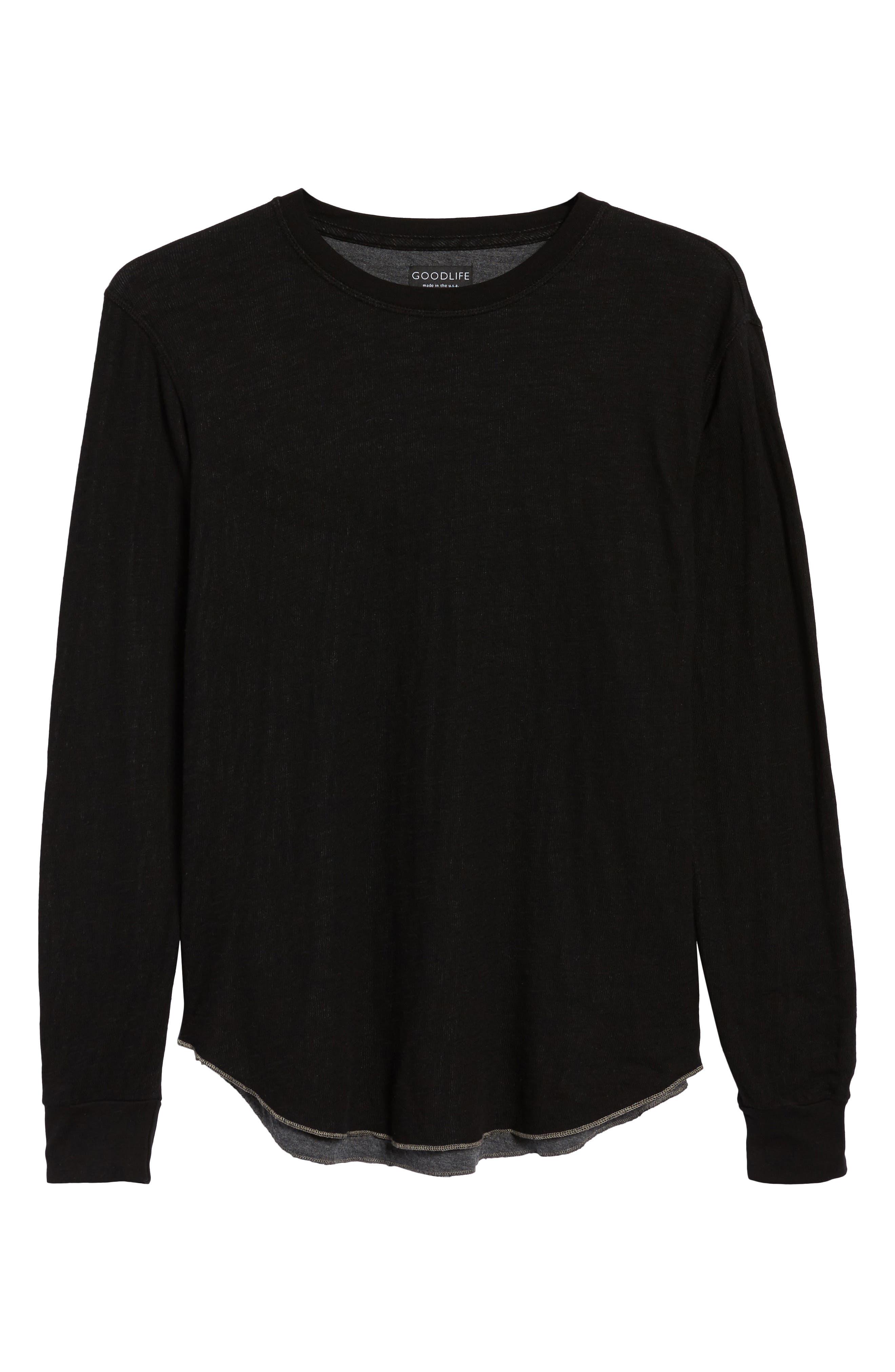 Double Layer Slim Crewneck T-Shirt,                             Alternate thumbnail 38, color,