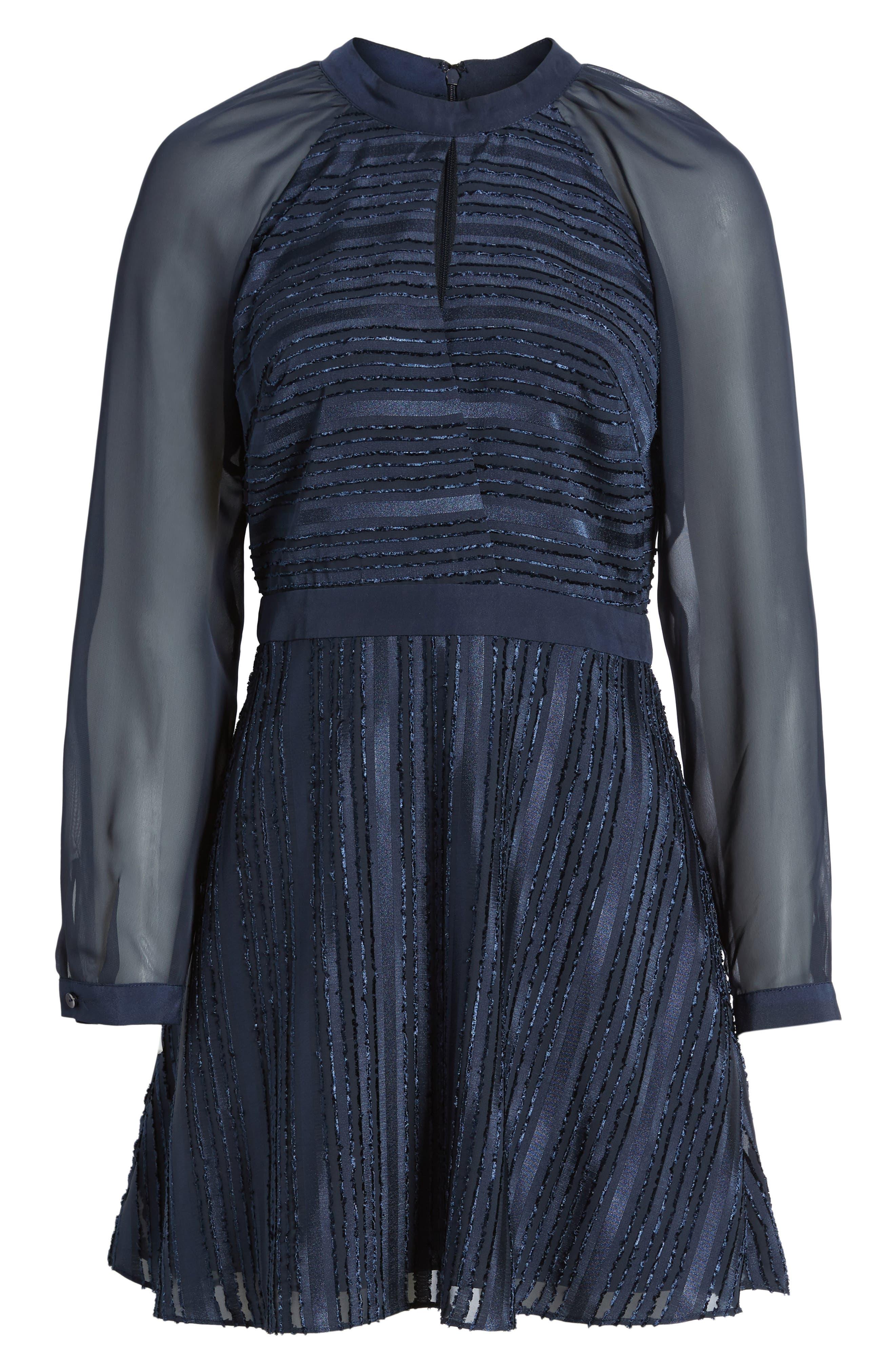 Marge Skater Dress,                             Alternate thumbnail 6, color,                             400