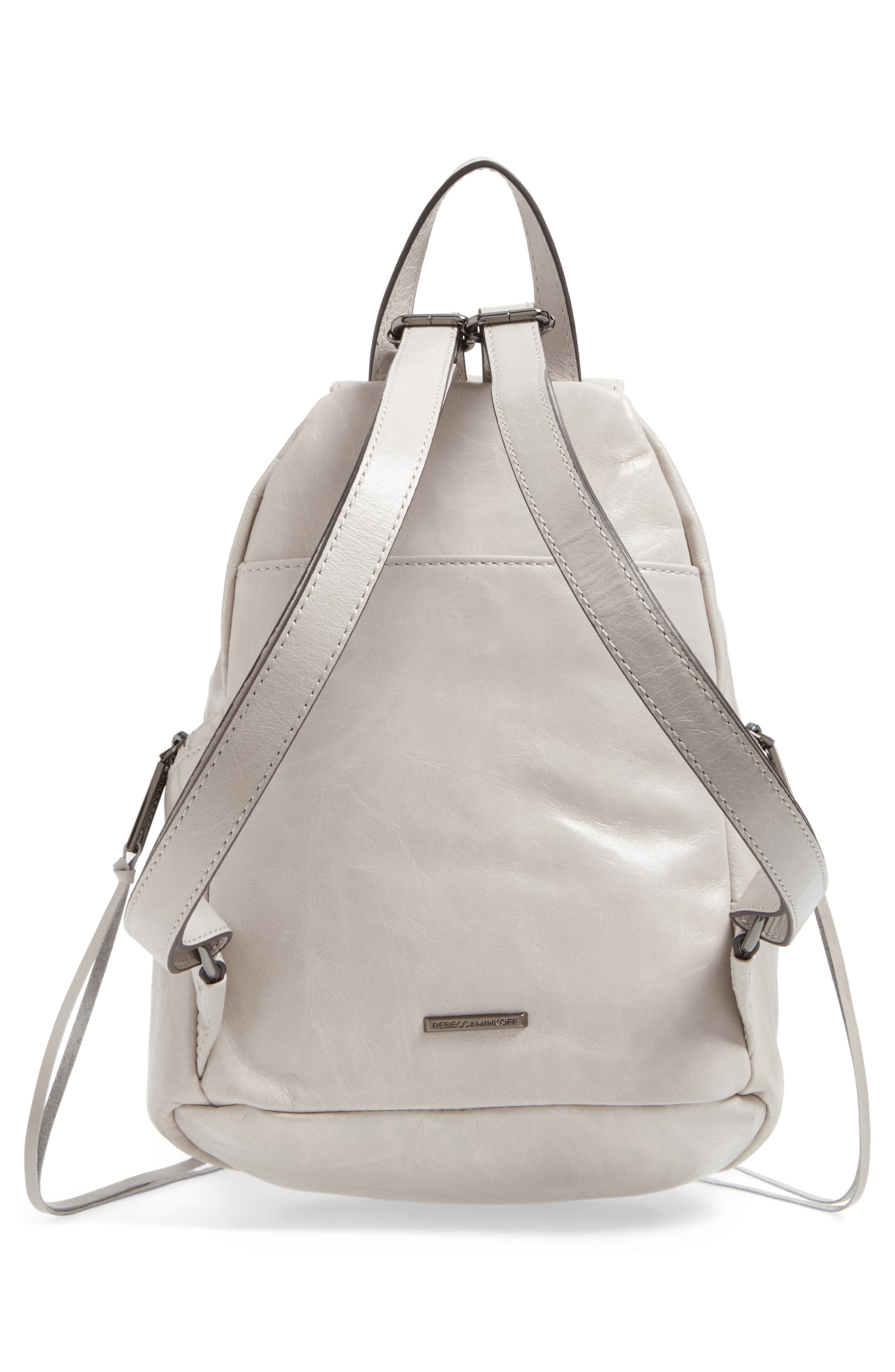 Medium Julian Leather Backpack,                             Alternate thumbnail 11, color,