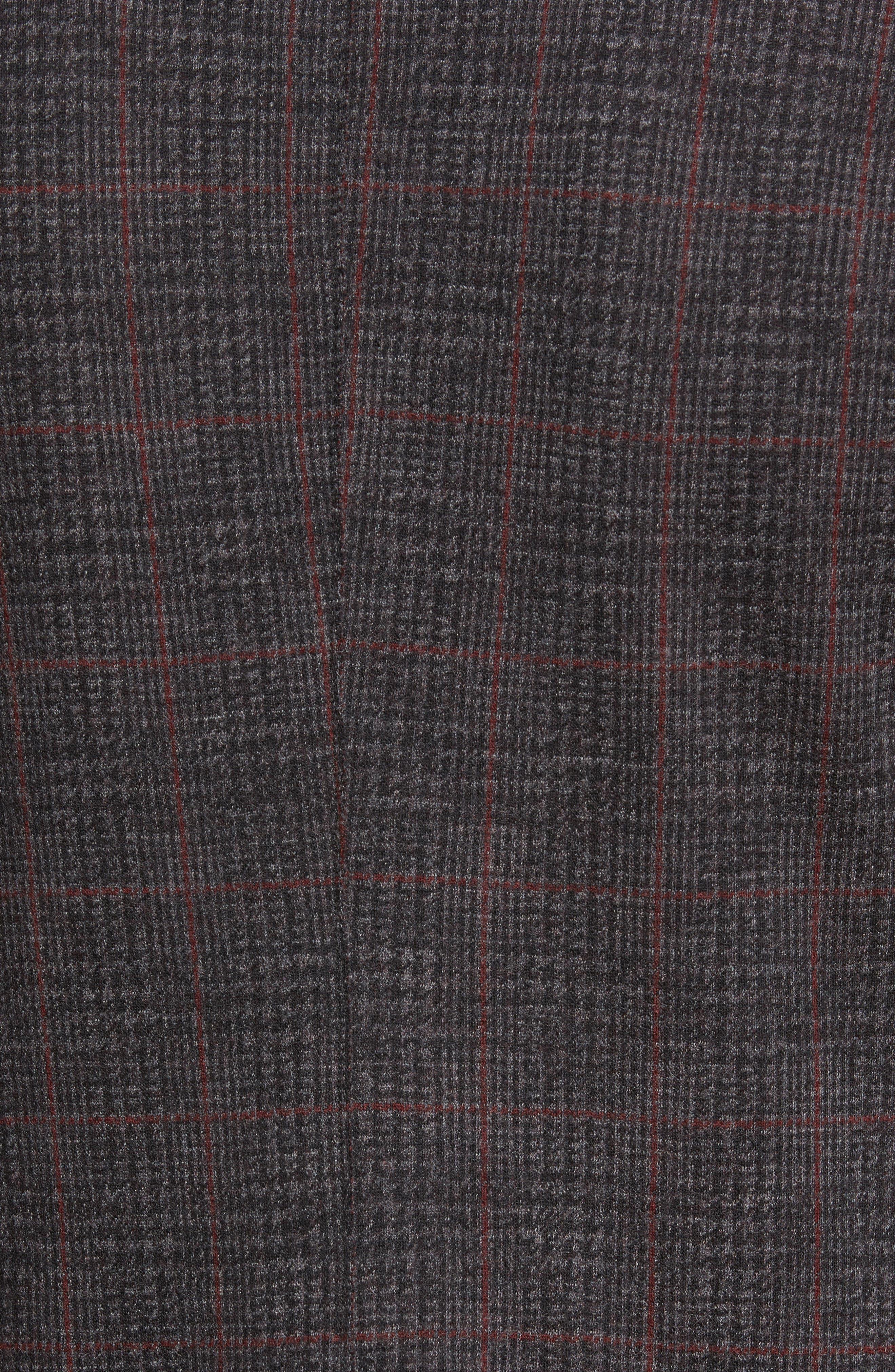 Plaid Wool Blazer,                             Alternate thumbnail 6, color,                             037