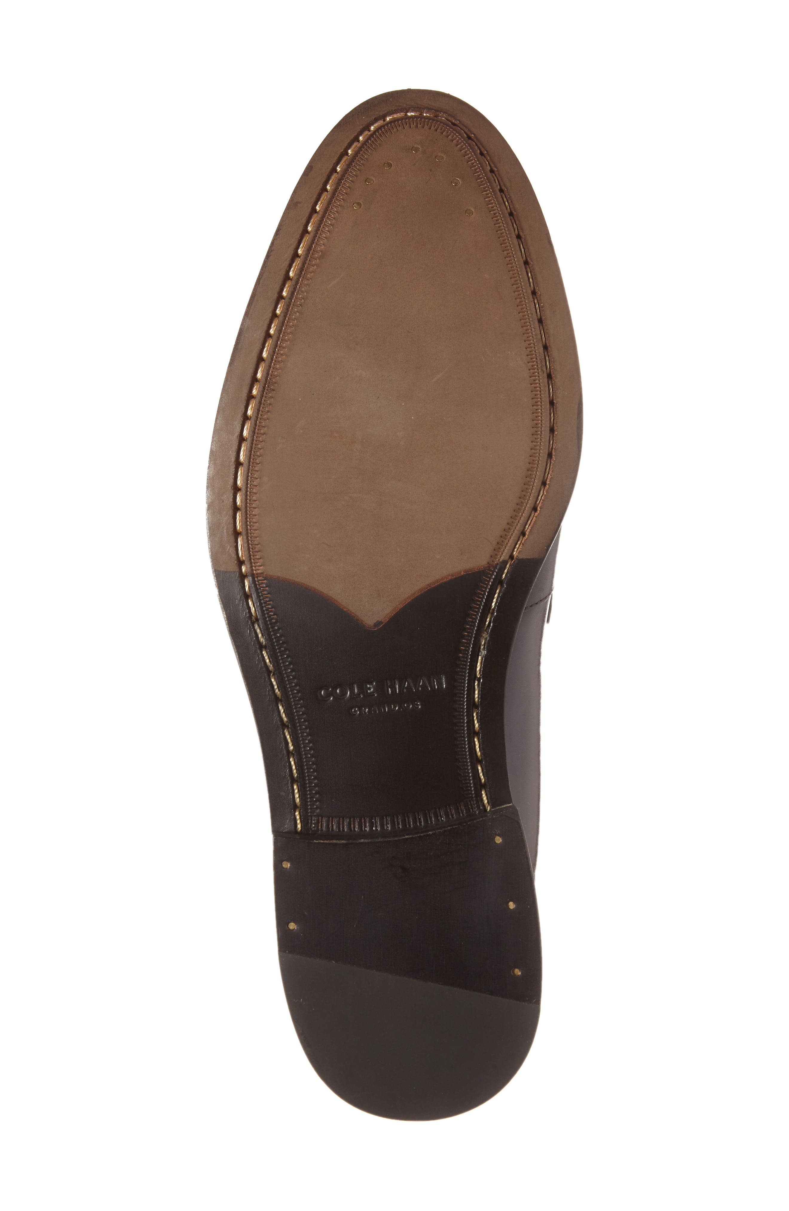 'Pinch Gotham' Penny Loafer,                             Alternate thumbnail 4, color,                             001