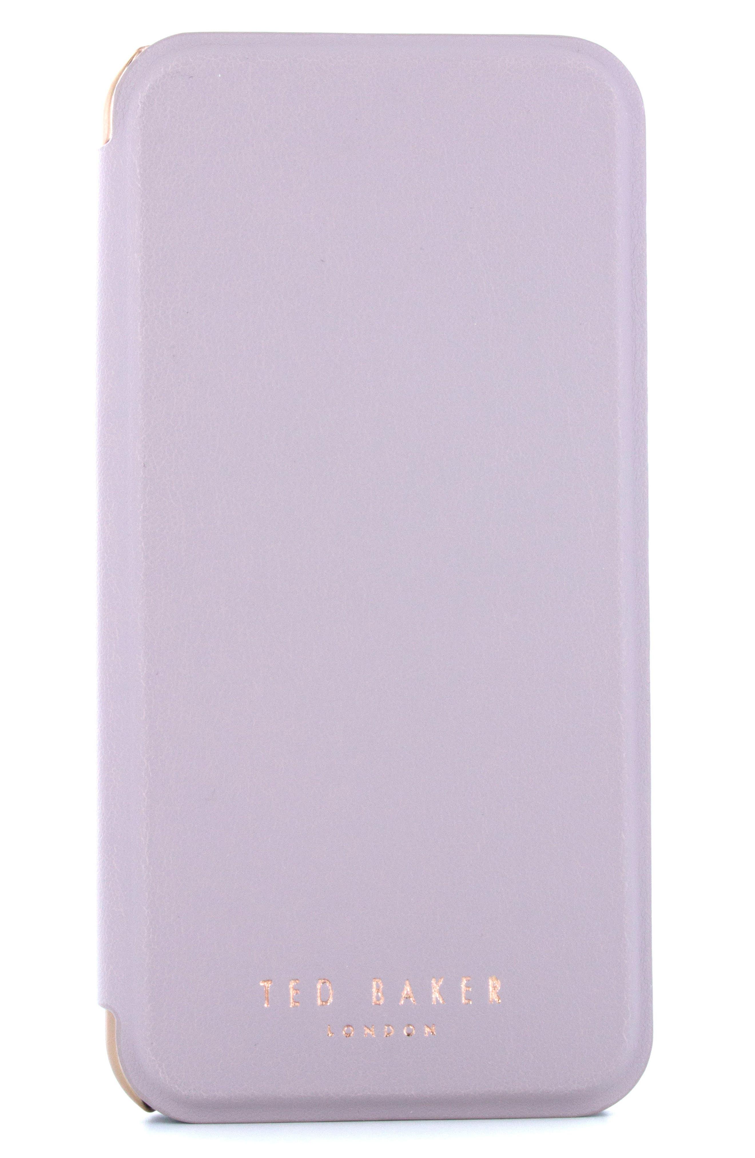Shannon iPhone 6/6s/7/8 & 6/6s/7/8 Plus Mirror Folio Case,                             Alternate thumbnail 6, color,                             530