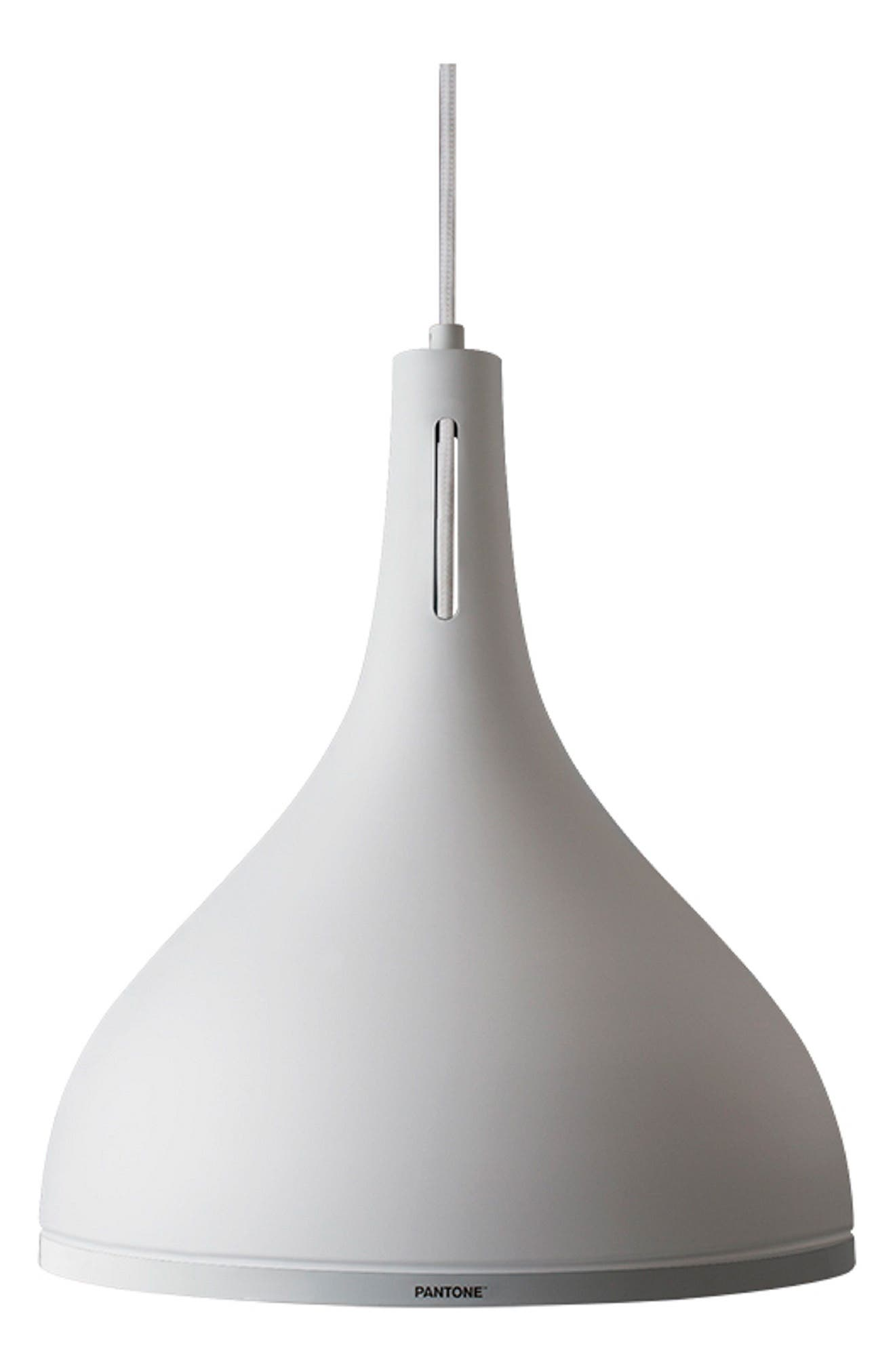 Pantone(TM) Castor Pendant Light Size One Size  White