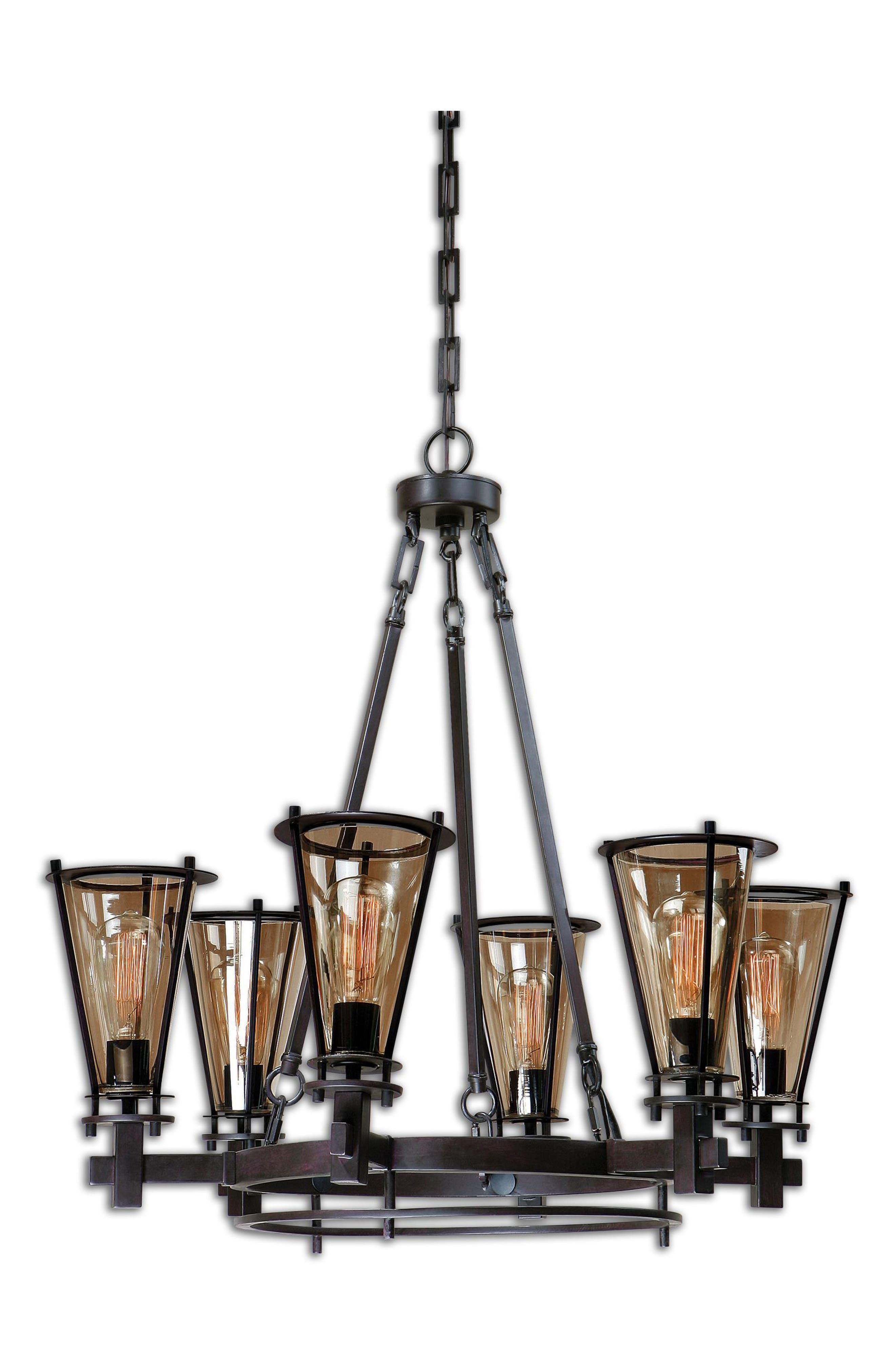 Frisco Chandelier,                             Main thumbnail 1, color,