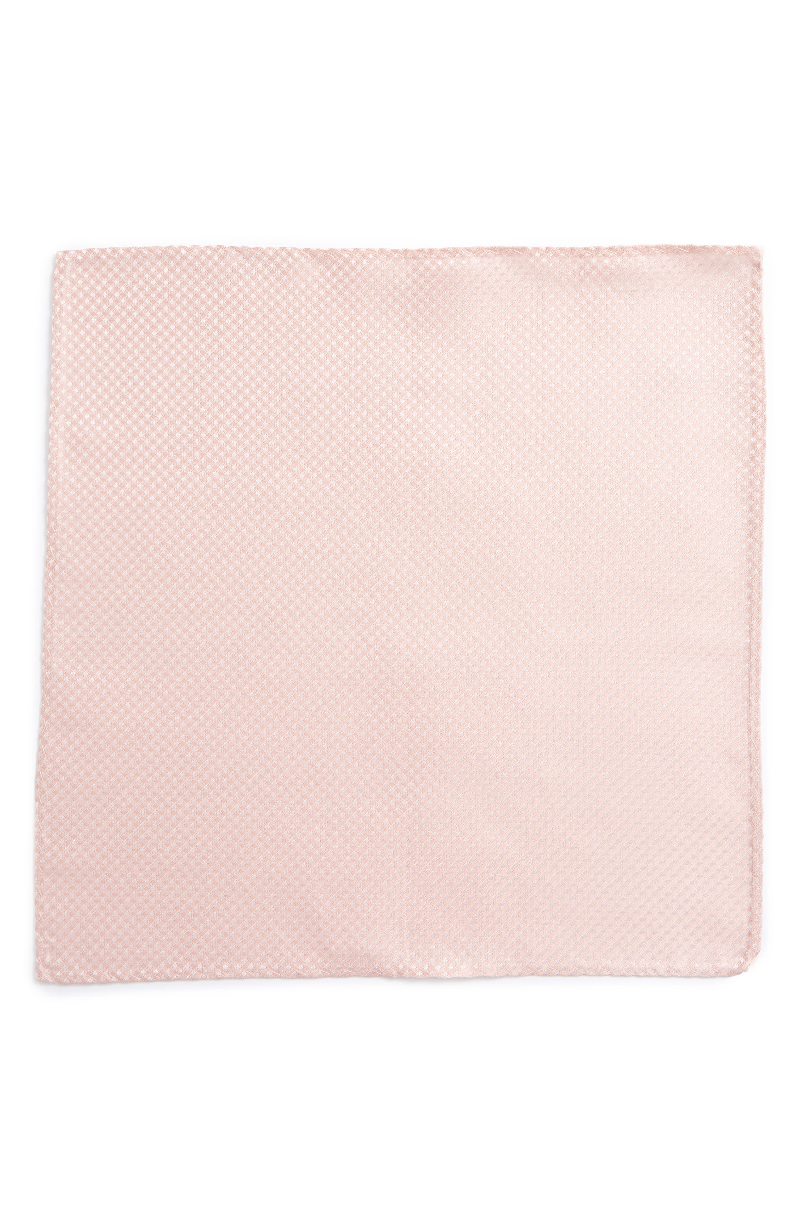 Check Silk Pocket Square,                             Alternate thumbnail 2, color,                             682
