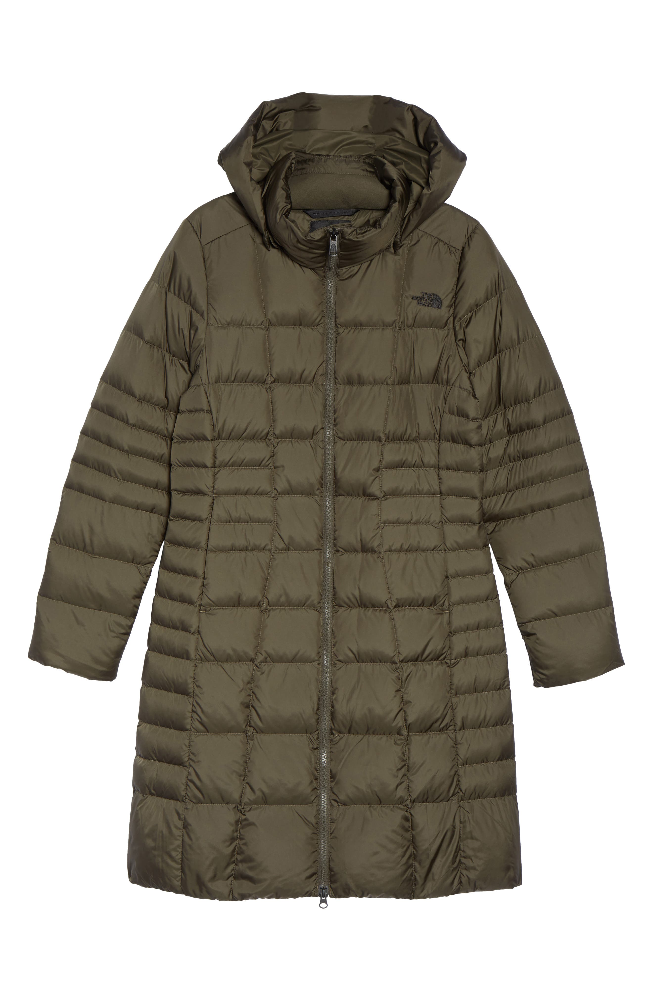 Metropolis II Hooded Water Resistant Down Parka,                             Alternate thumbnail 6, color,                             NEW TAUPE