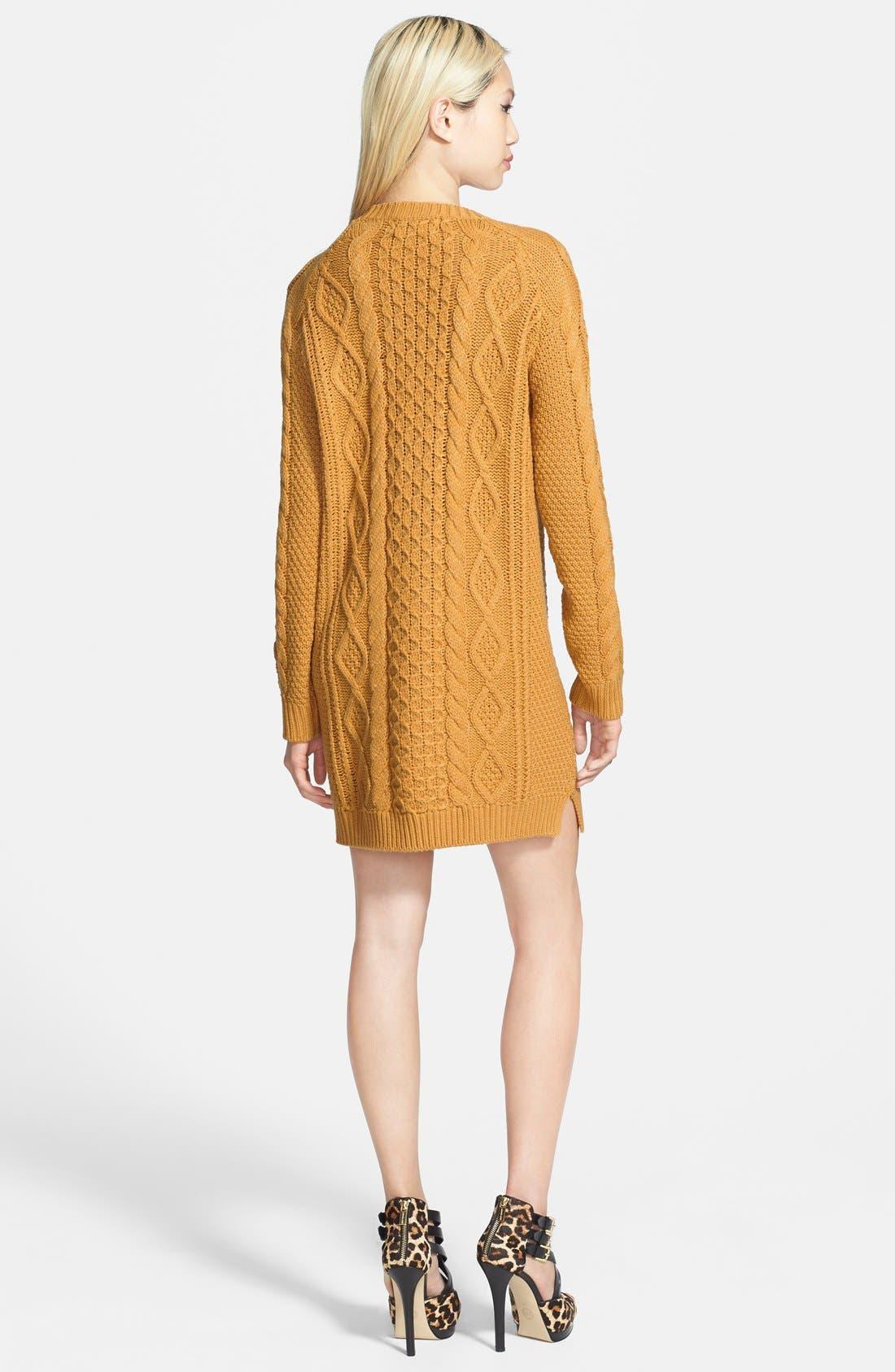 'Chalet Girl' Sweater Dress,                             Alternate thumbnail 2, color,                             700