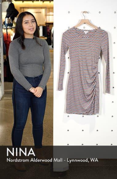 Ruched Stripe Minidress, sales video thumbnail
