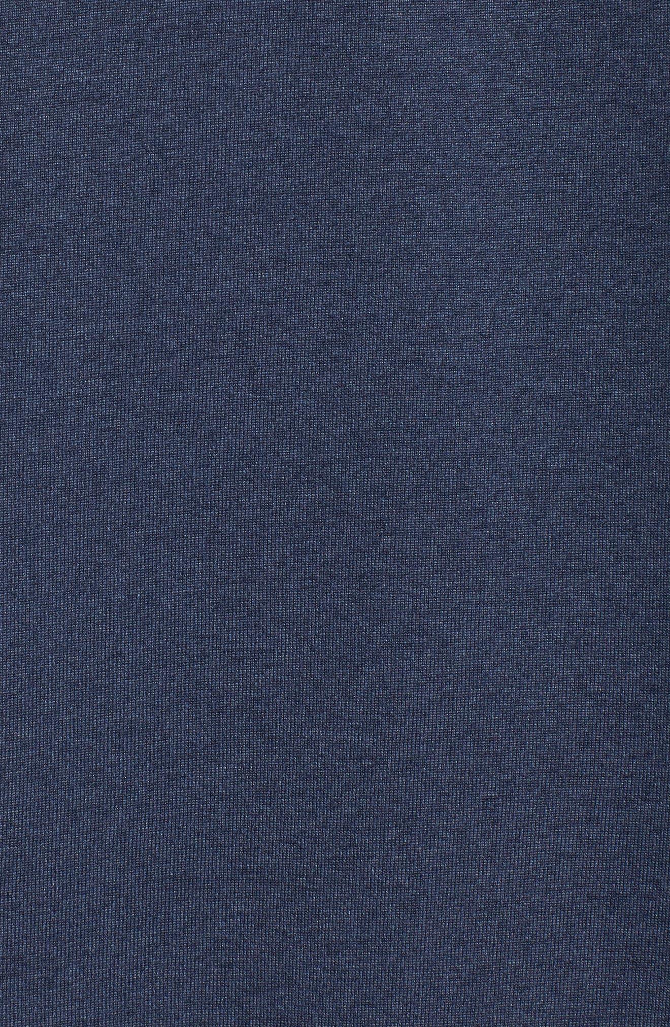 'Legend 2.0' Long Sleeve Dri-FIT Training T-Shirt,                             Alternate thumbnail 5, color,                             THUNDER BLUE/ BLACK