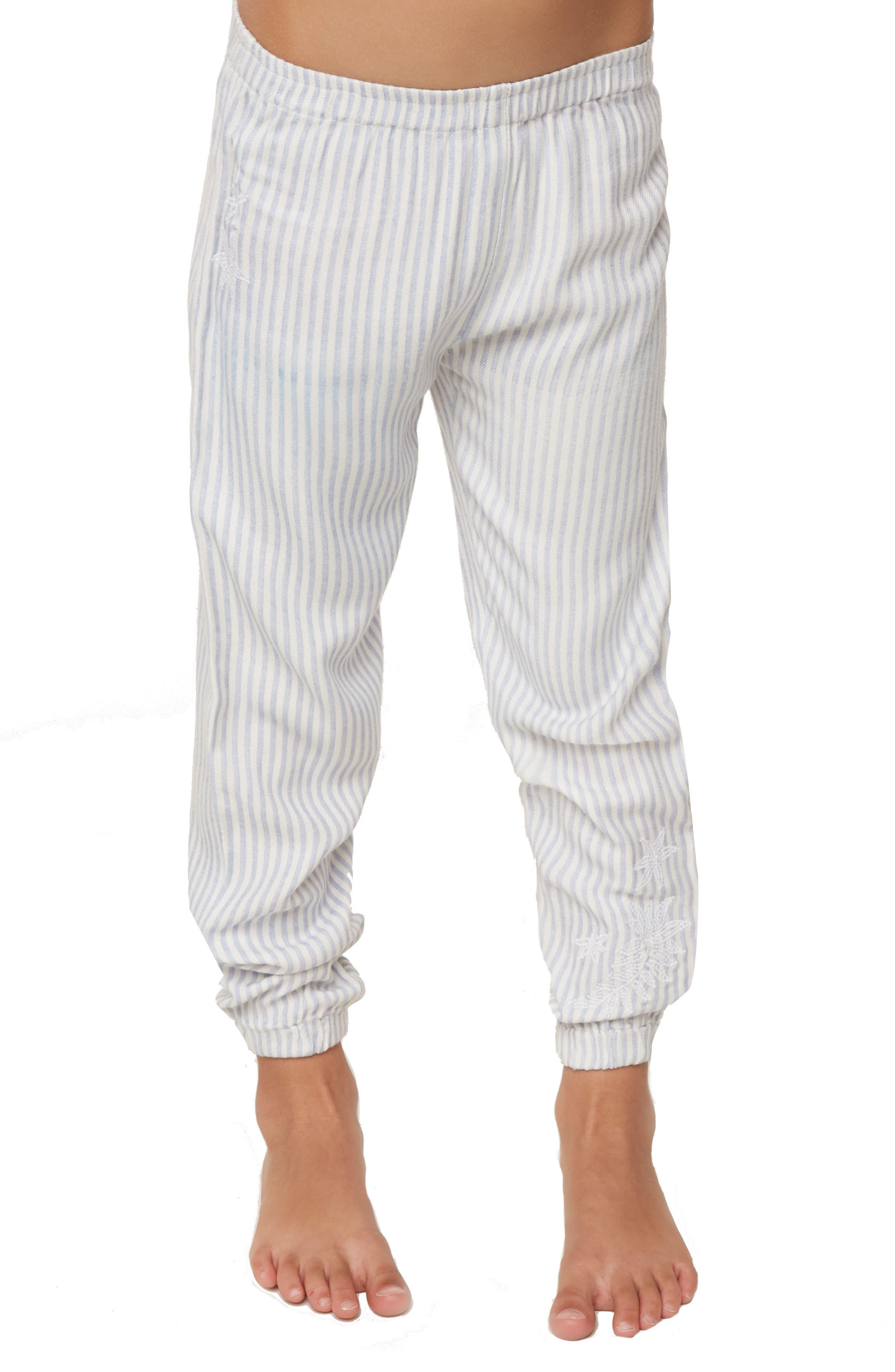 Skylar Stripe Jogger Pants,                             Alternate thumbnail 3, color,                             100