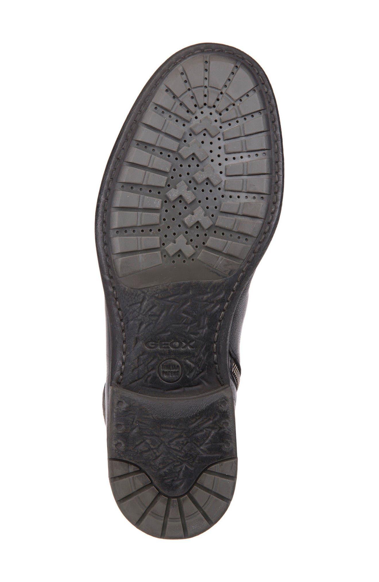 Jaylon 12 Cap-Toe Boot,                             Alternate thumbnail 6, color,                             001