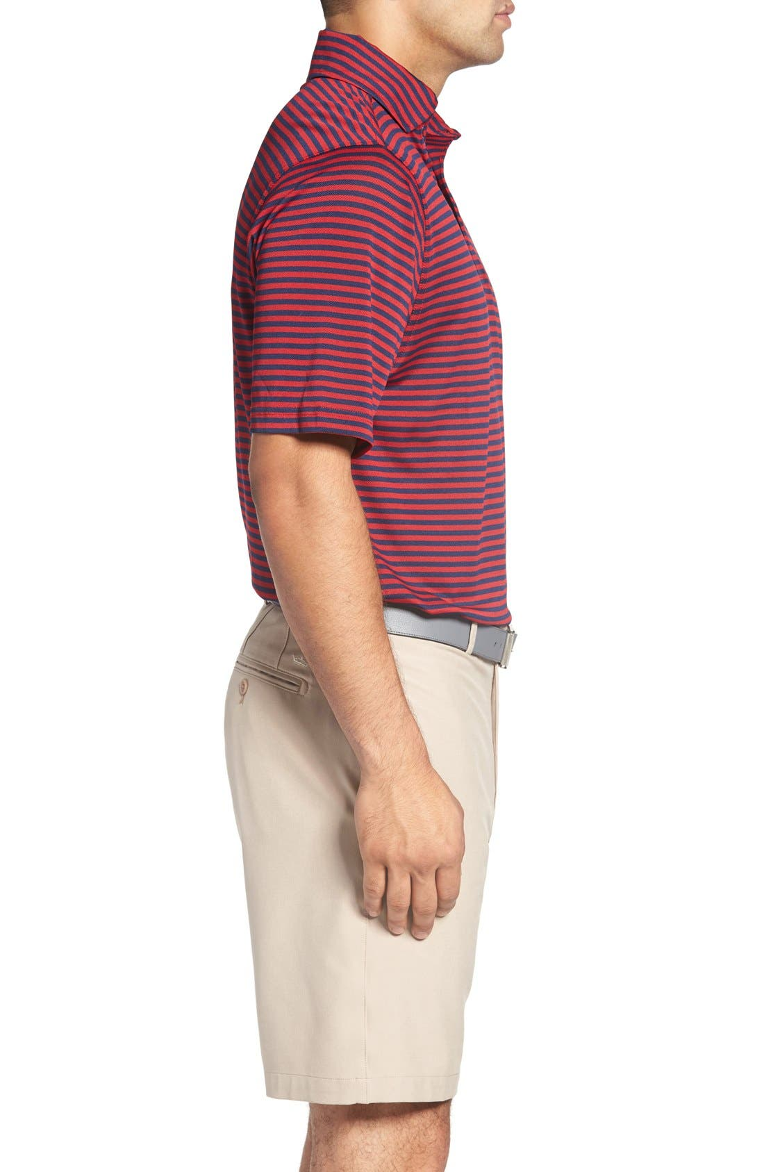 XH2O Feed Stripe Stretch Golf Polo,                             Alternate thumbnail 54, color,