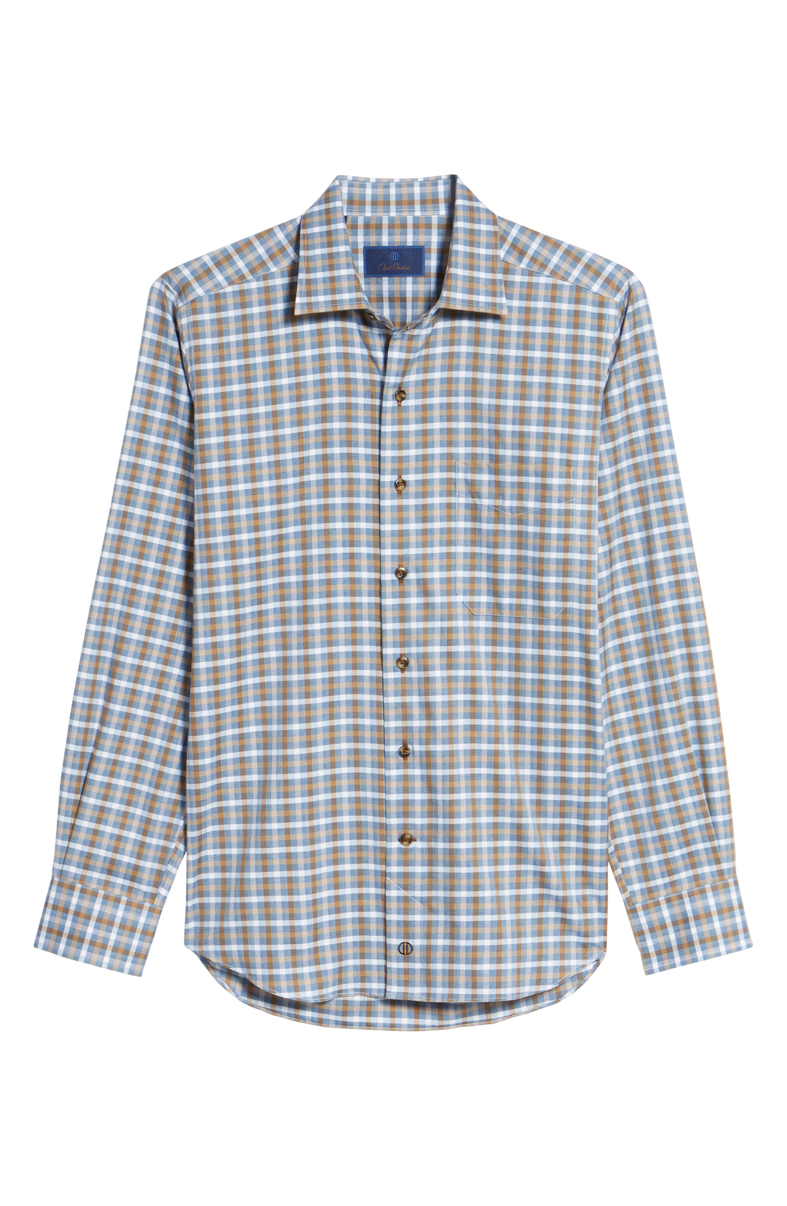 Plaid Regular Fit Sport Shirt,                             Alternate thumbnail 12, color,