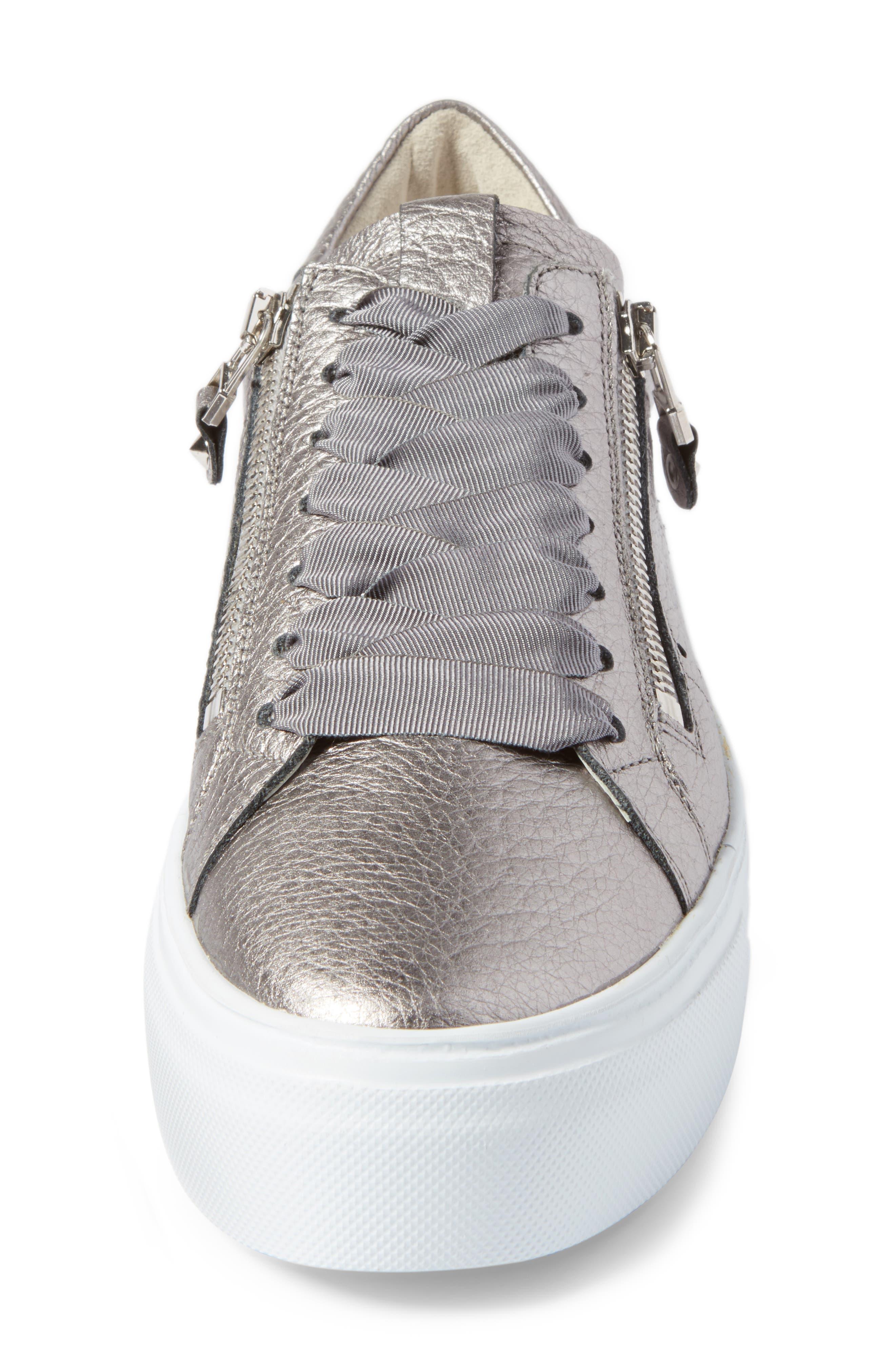 Kennel & Schmenger Big Low Top Platform Sneaker,                             Alternate thumbnail 4, color,                             020