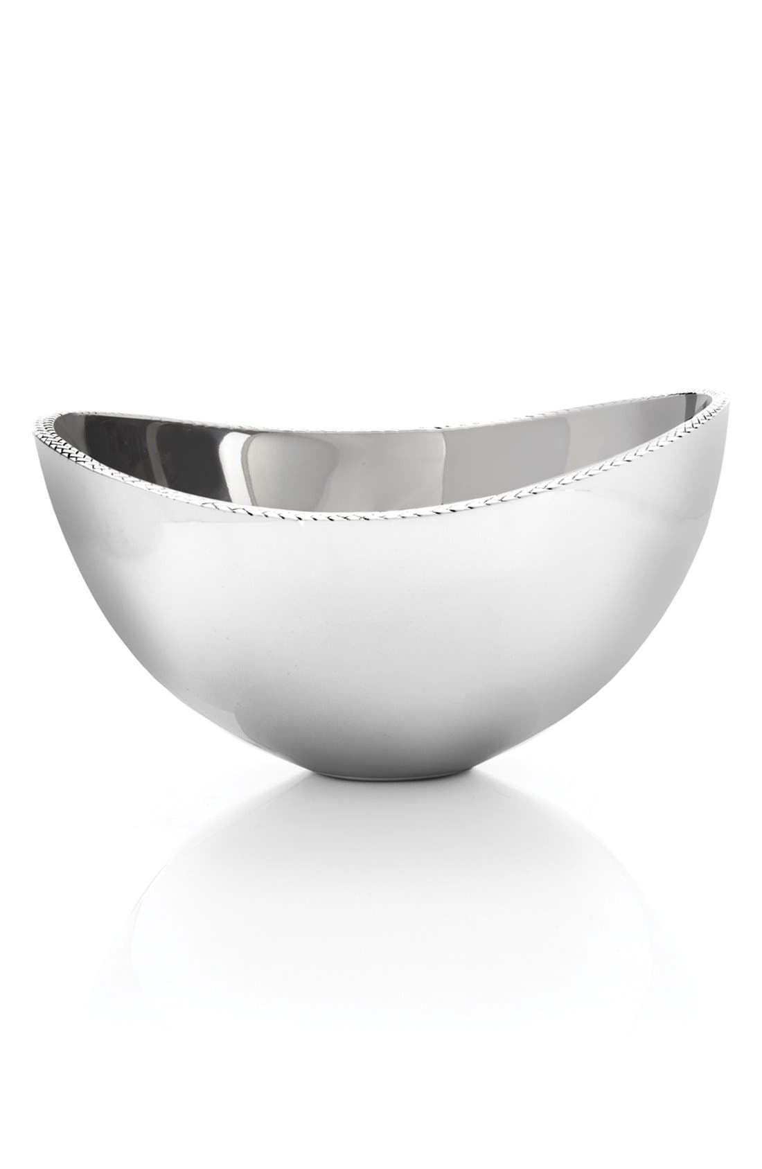 'Braid' Serving Bowl,                             Alternate thumbnail 3, color,                             040