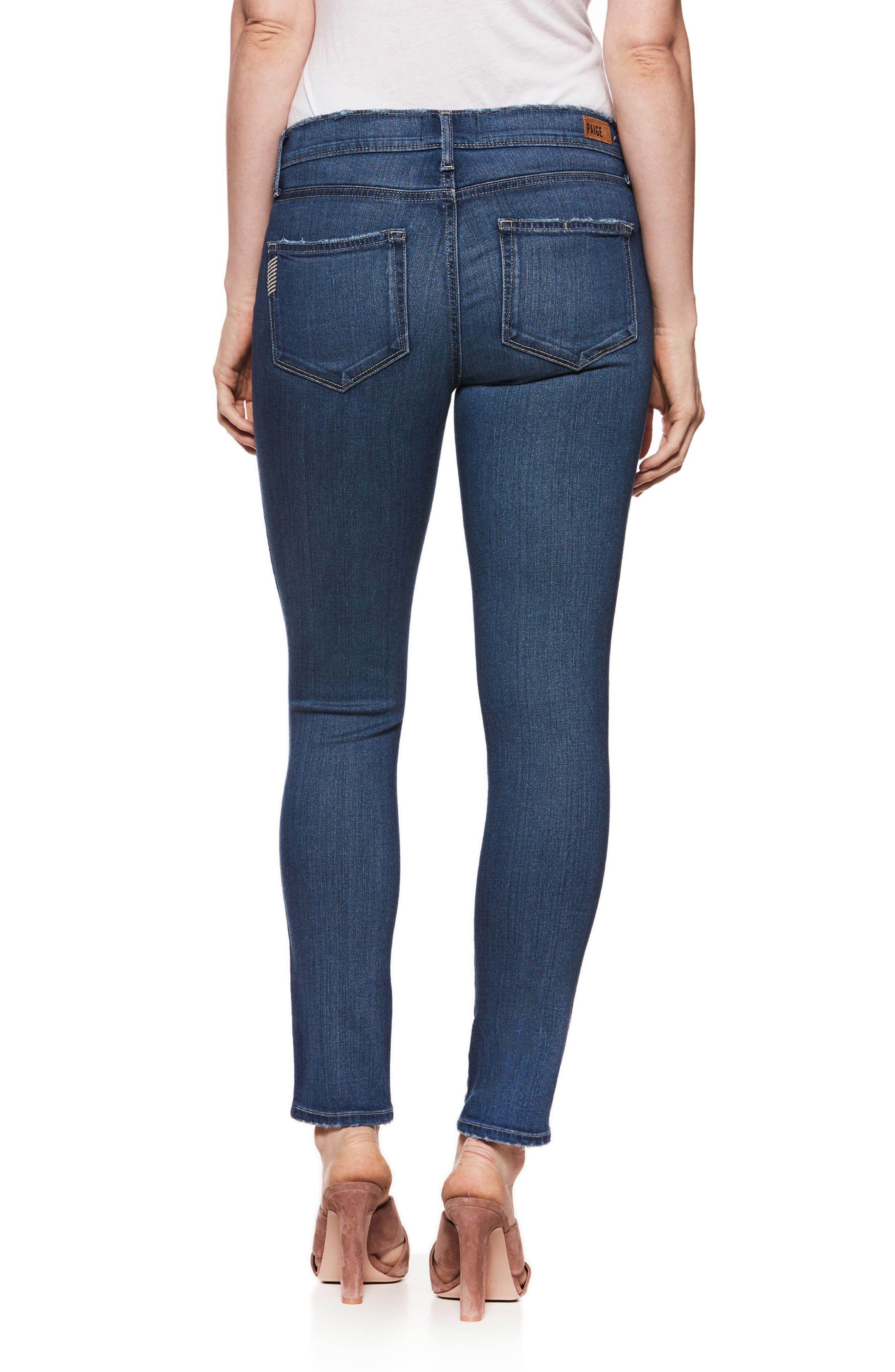 PAIGE,                             Transcend - Verdugo Ultra Skinny Maternity Jeans,                             Alternate thumbnail 2, color,                             400