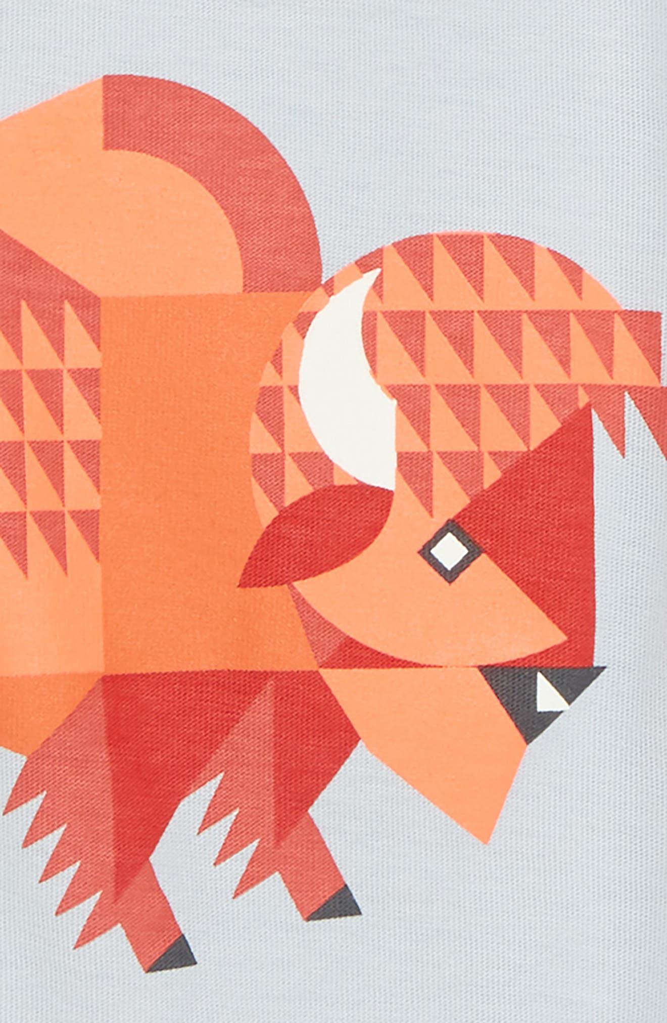 Bison T-Shirt,                             Alternate thumbnail 2, color,                             600