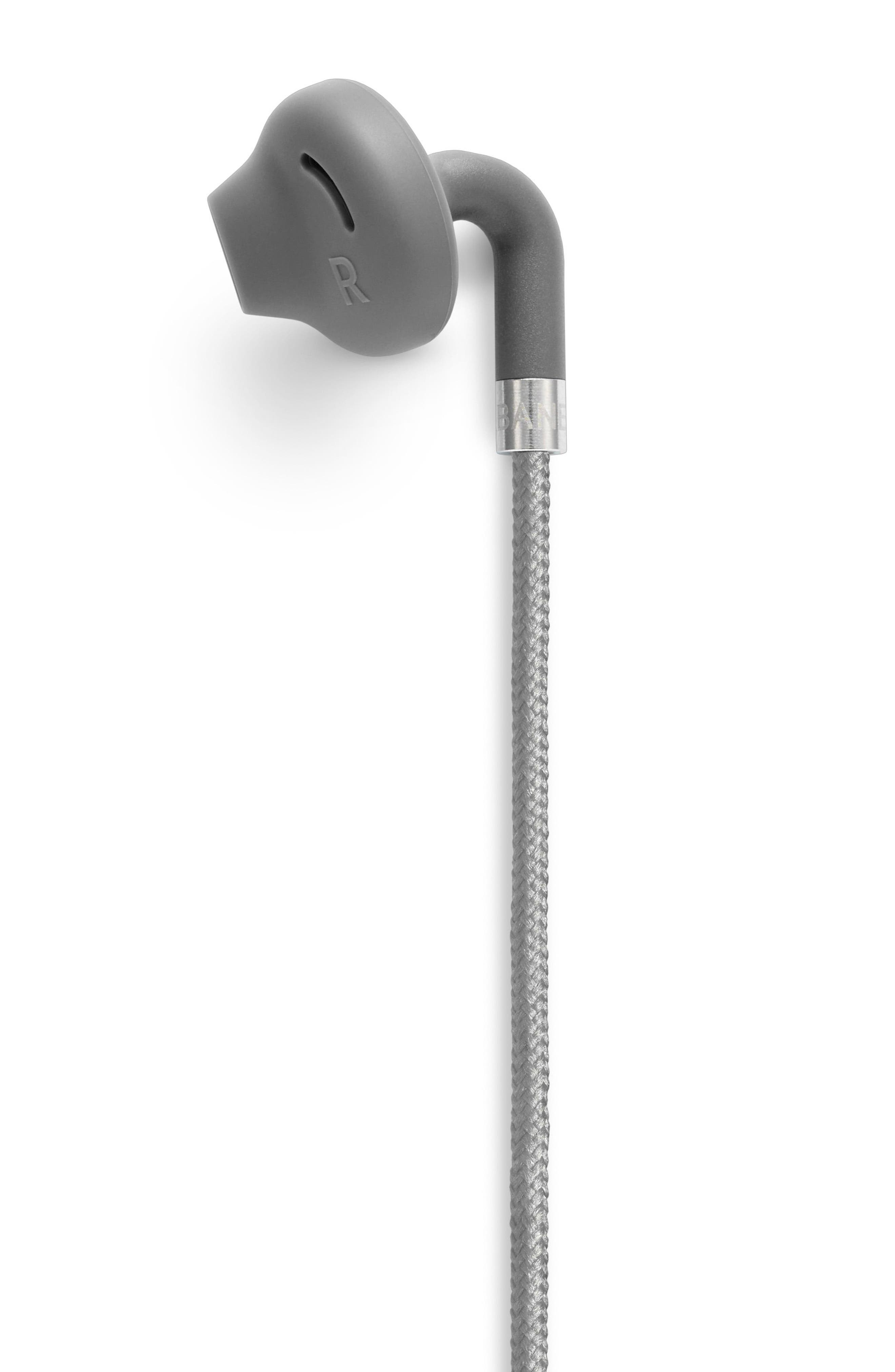 Sumpan Light & Neat Earbuds,                             Alternate thumbnail 5, color,                             DARK GREY
