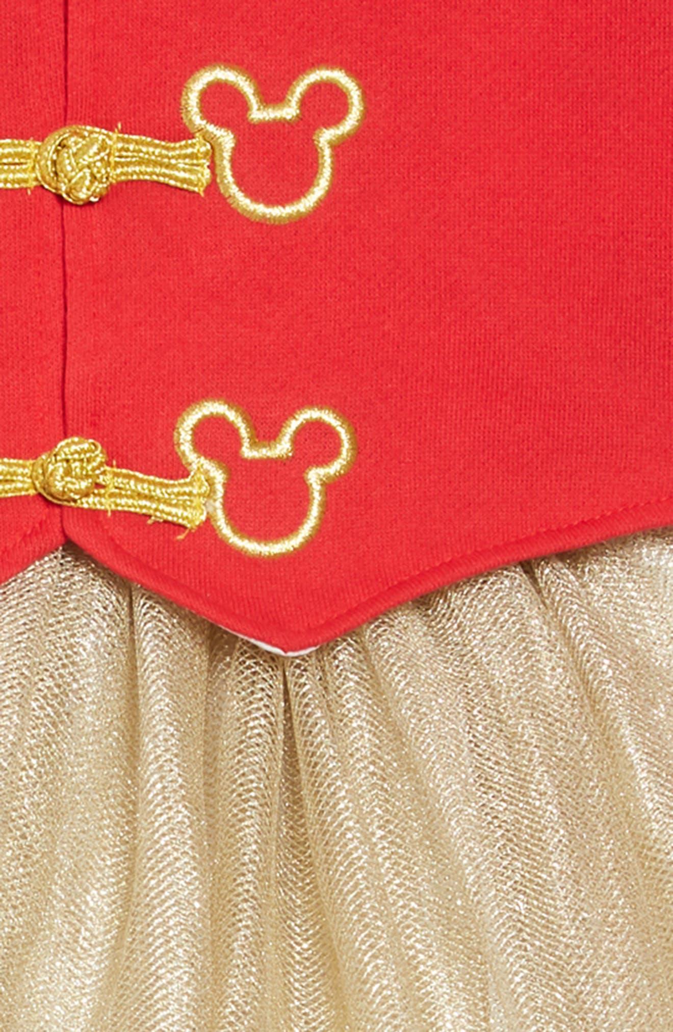 PIPPA & JULIE,                             x Disney<sup>®</sup> Mickey Mouse<sup>®</sup> Majorette Jacket & Tank Dress Set,                             Alternate thumbnail 4, color,                             643