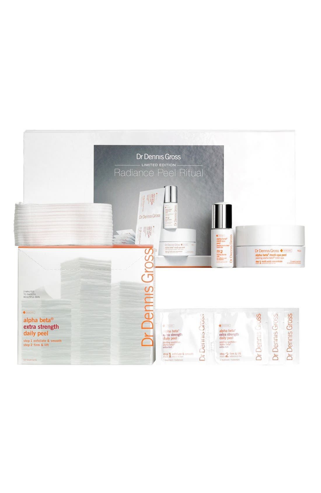 DR. DENNIS GROSS SKINCARE,                             Radiance Peel Ritual Collection,                             Alternate thumbnail 2, color,                             000