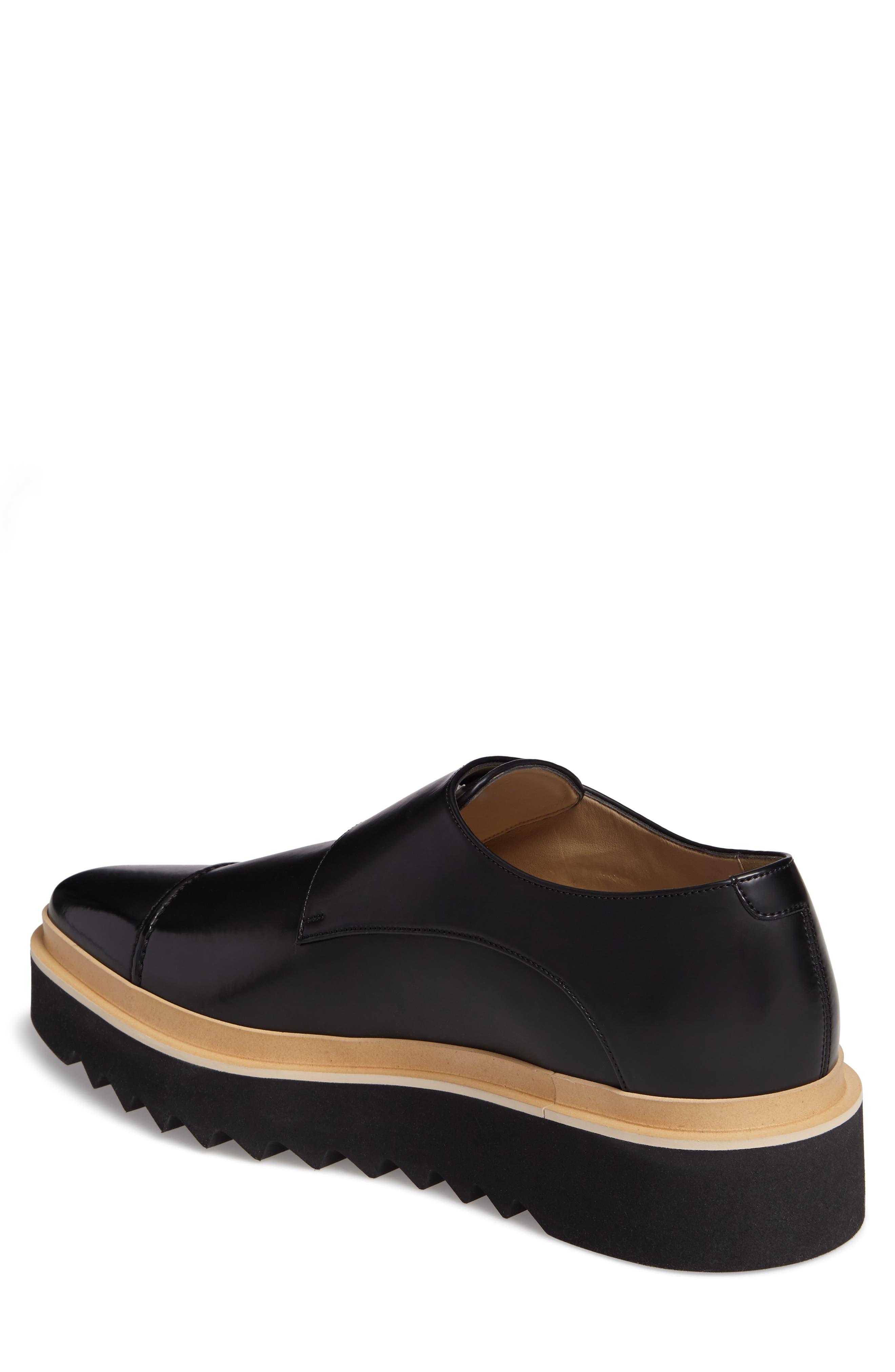 Peter Platform Monk Shoe,                             Alternate thumbnail 2, color,                             001