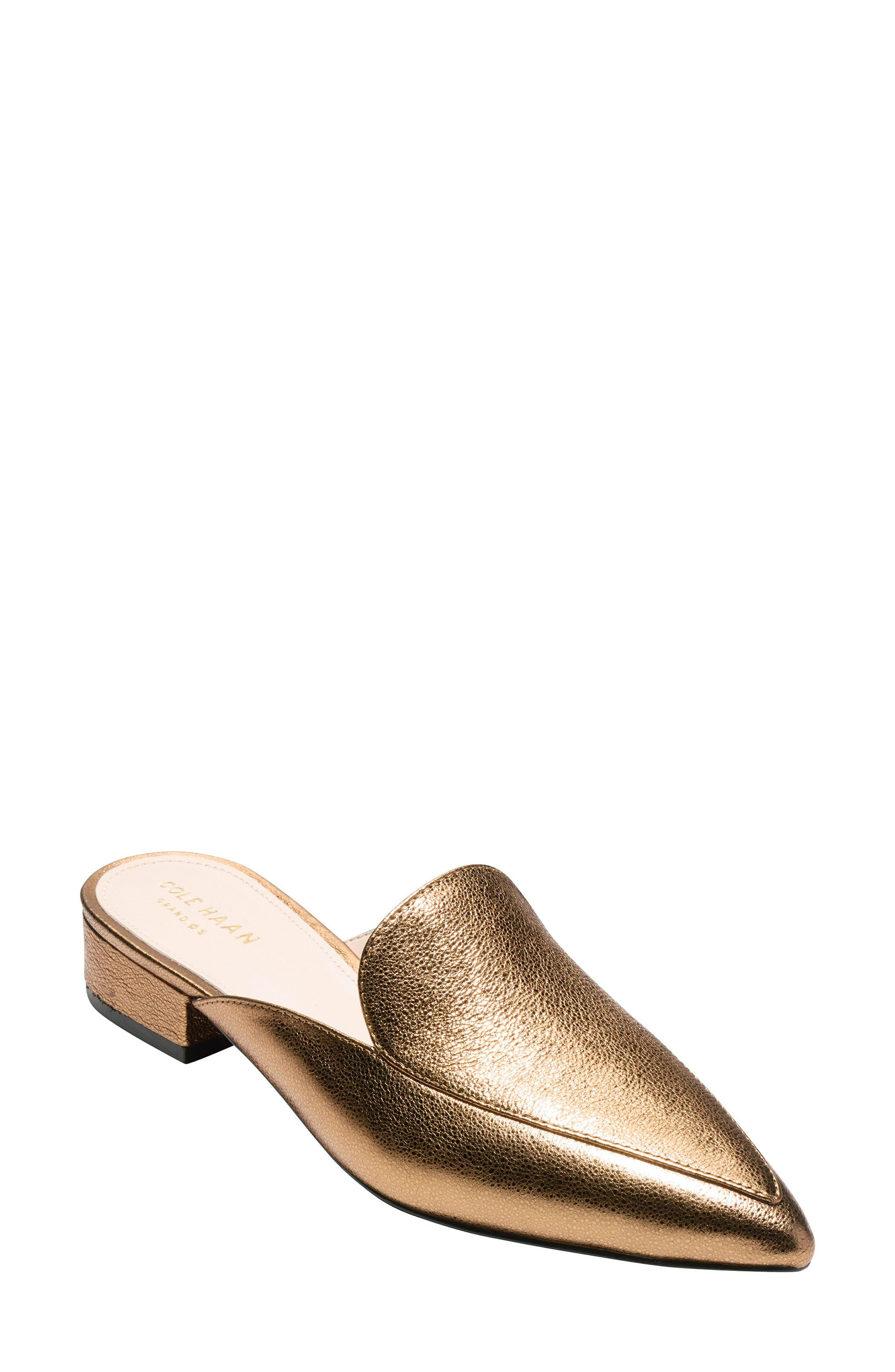58848b330e1 Cole Haan Piper Loafer Mule In Misty Rose Leather