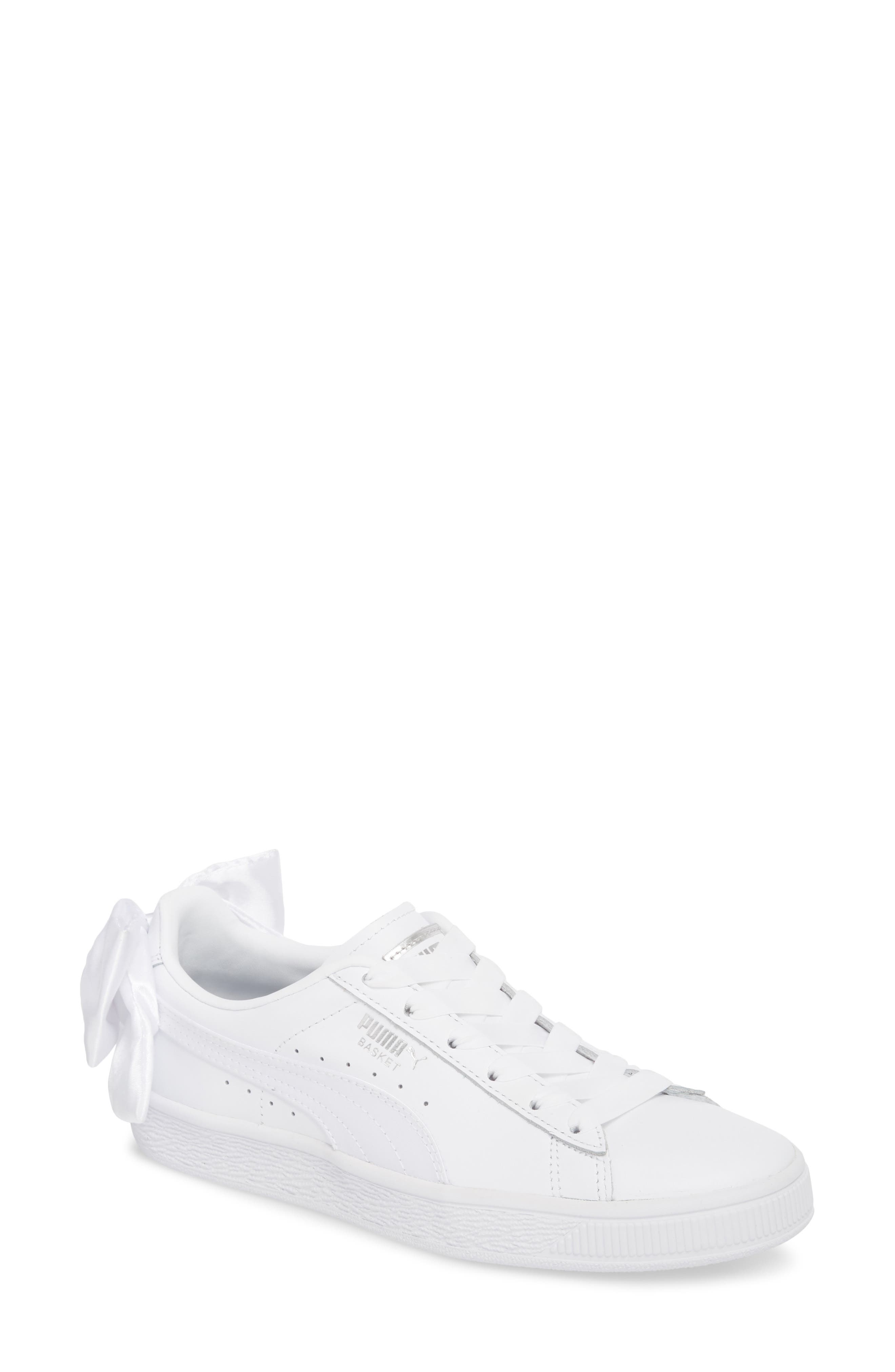 Basket Bow Sneaker,                         Main,                         color, 100