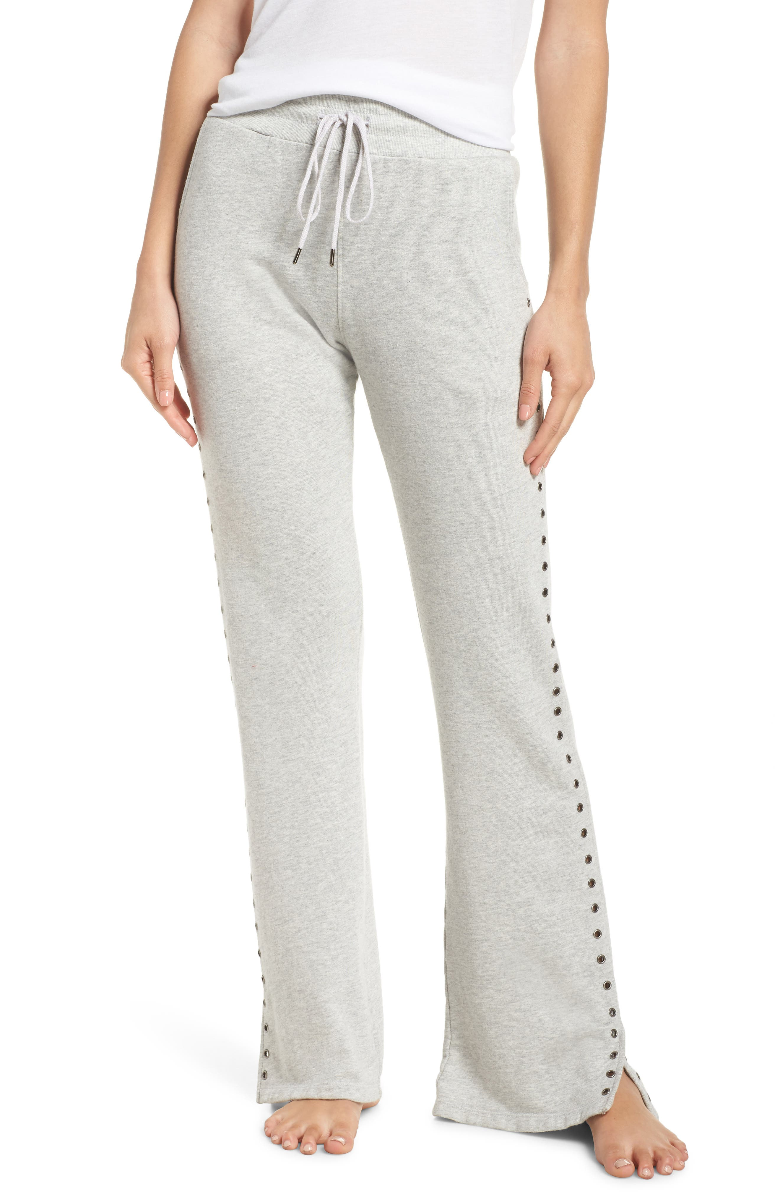 David Lerner Flare Leg Lounge Pants