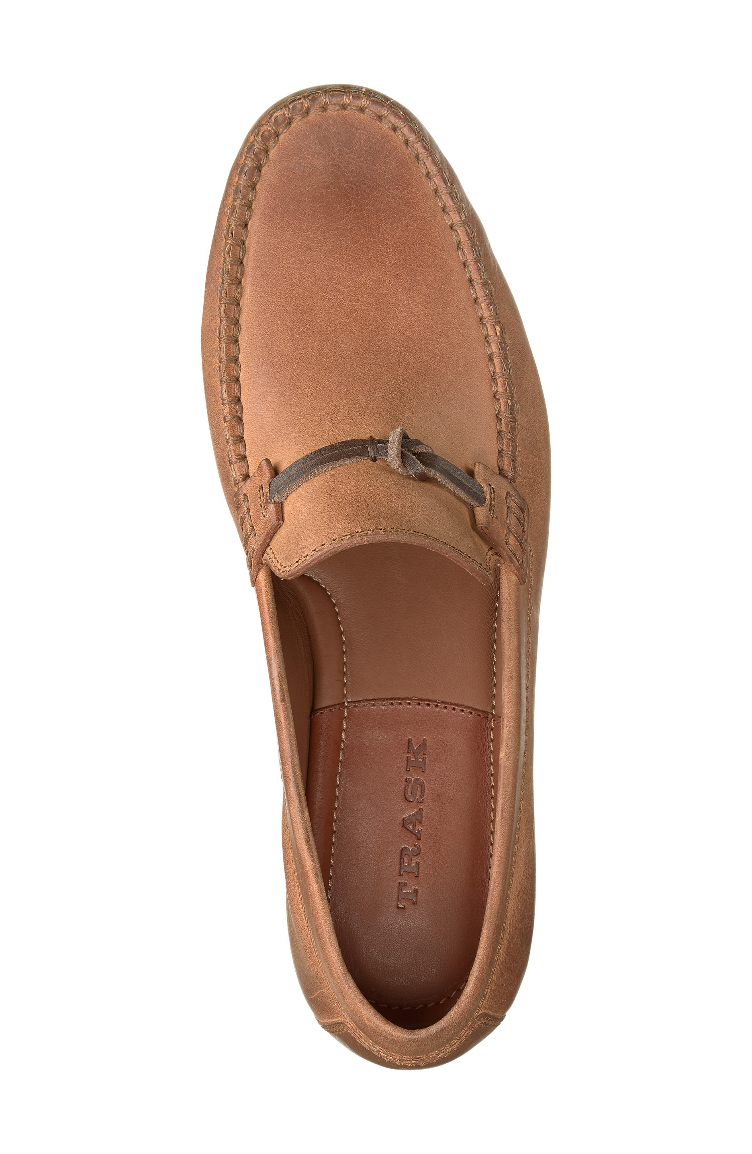 'Sawyer' Loafer,                             Alternate thumbnail 5, color,                             TAN LEATHER