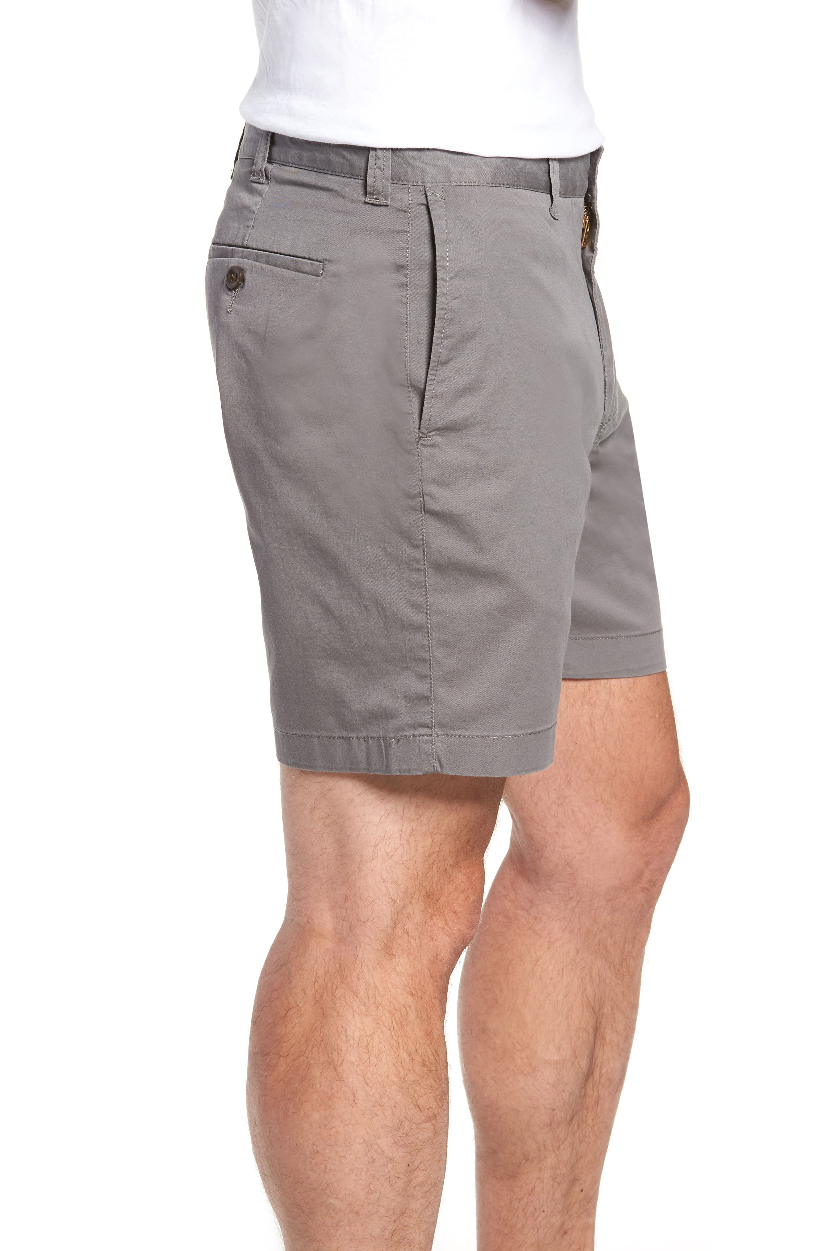 Stretch Cotton Shorts,                             Alternate thumbnail 9, color,