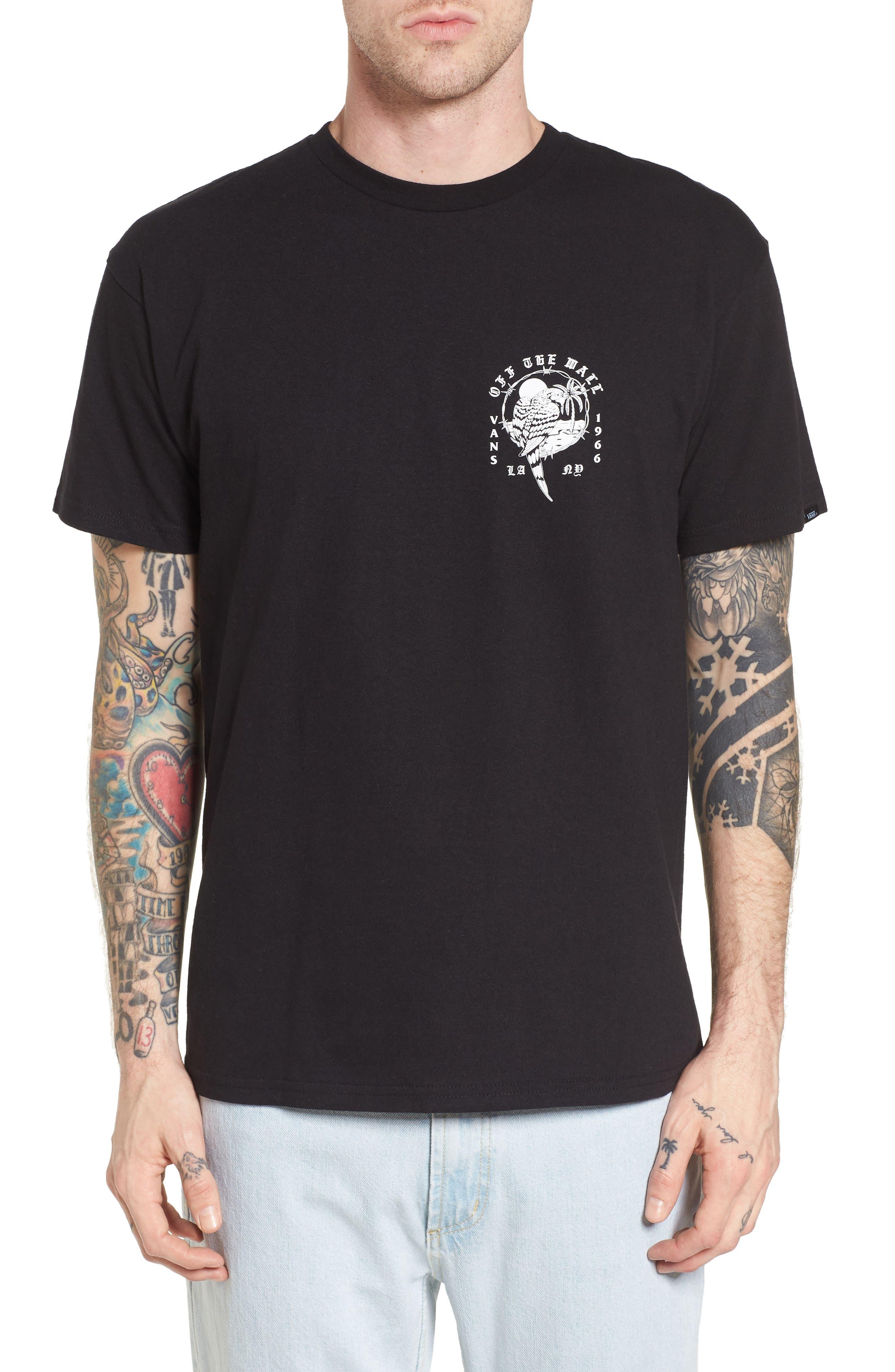 Parrot Beach Graphic T-Shirt,                             Main thumbnail 1, color,